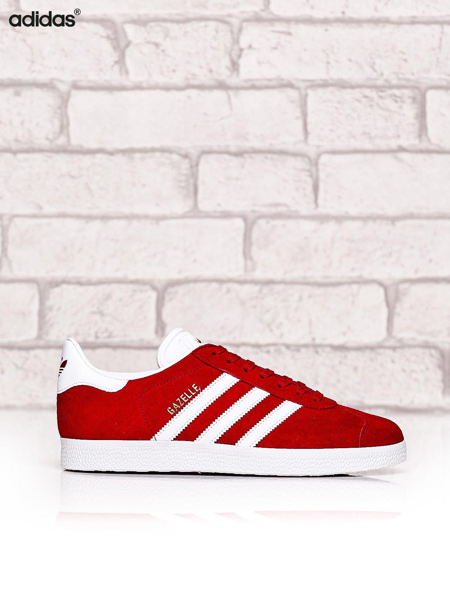 090c41de ADIDAS Czerwone buty sportowe damskie Gazelle - Buty Buty sportowe - sklep  eButik.pl
