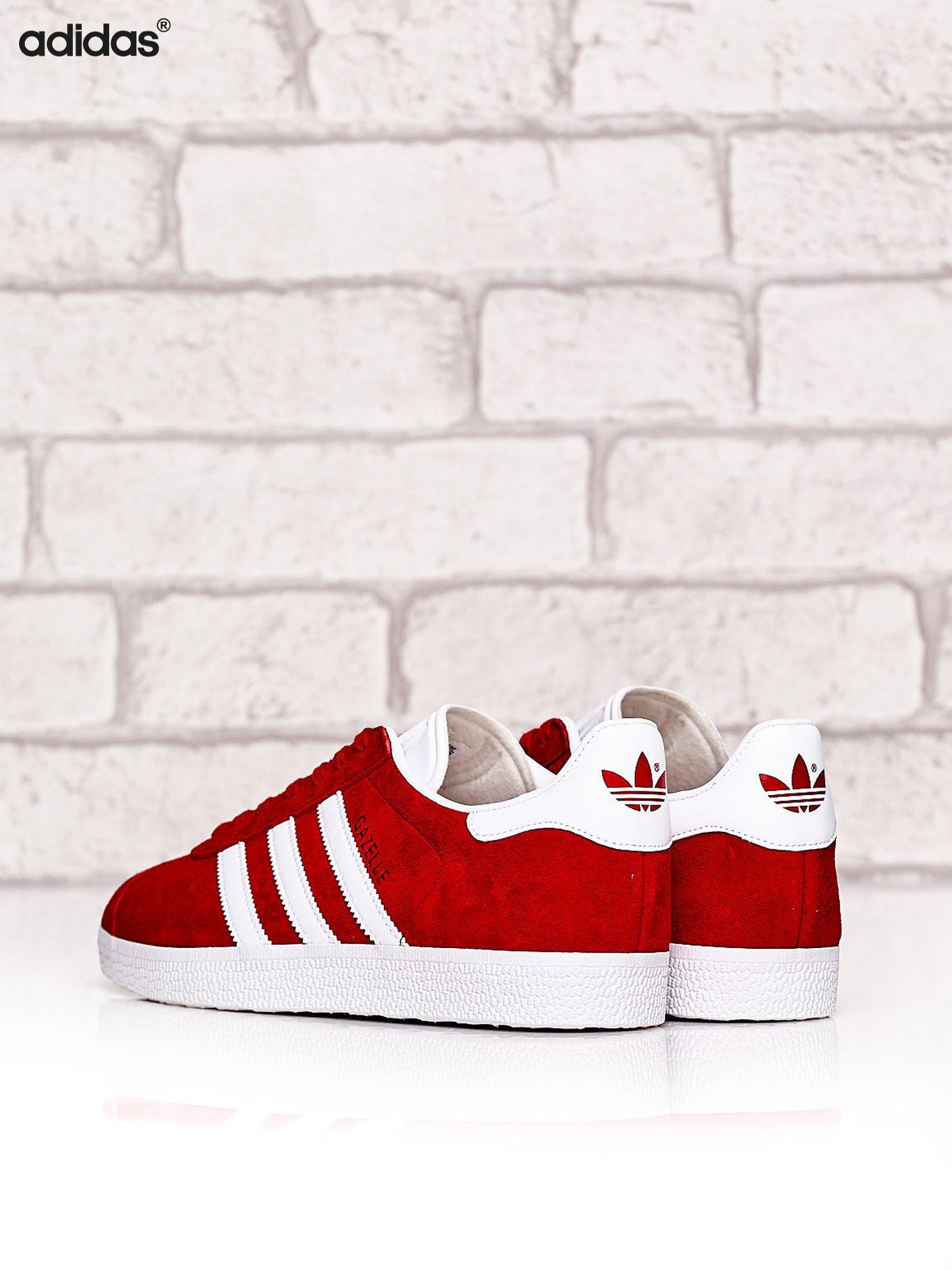 klasyczny styl sprzedawane na całym świecie style mody ADIDAS Czerwone buty sportowe damskie Gazelle