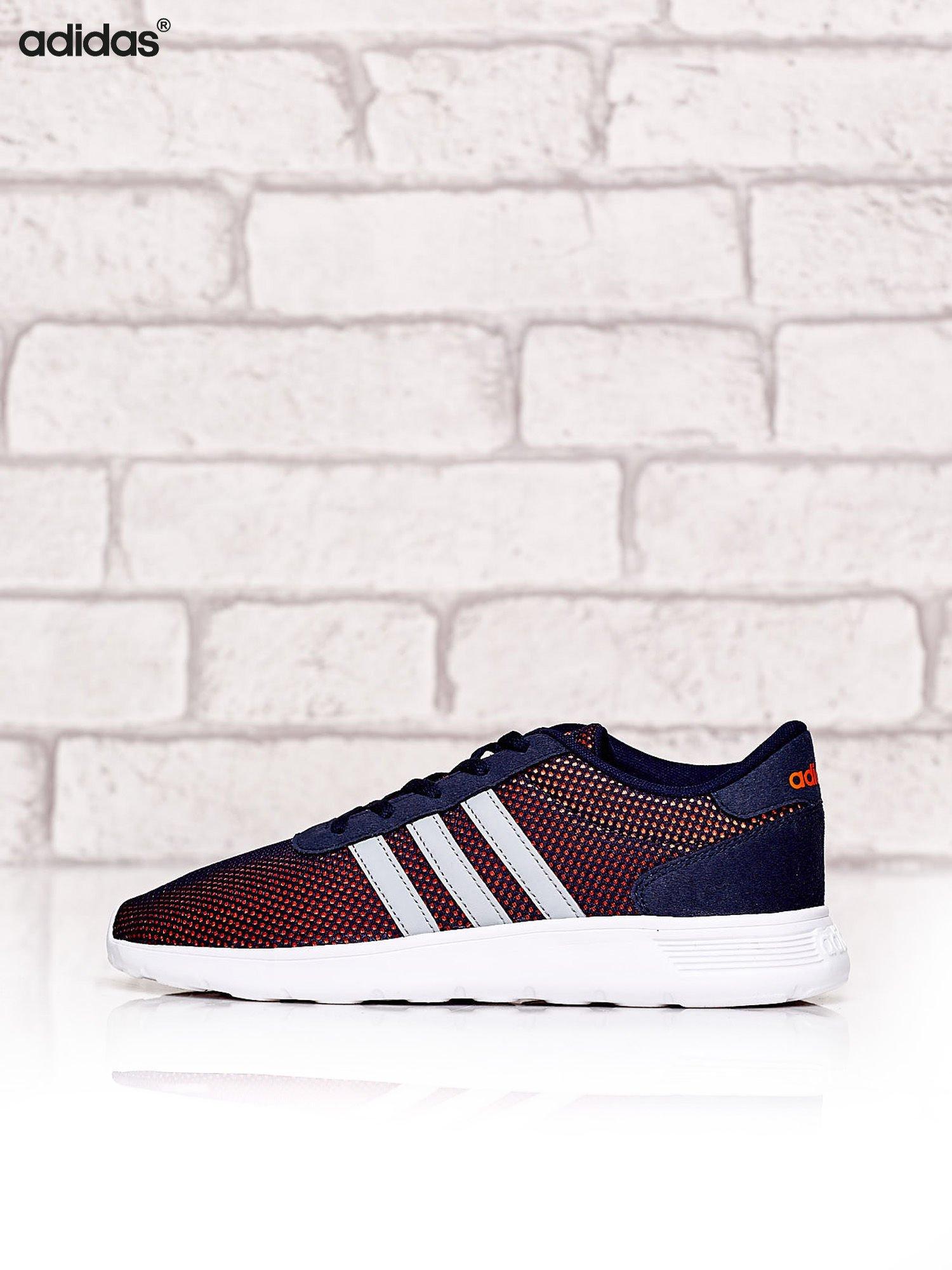 gładki kup tanio Nowe Produkty ADIDAS Granatowe siateczkowe buty sportowe damskie