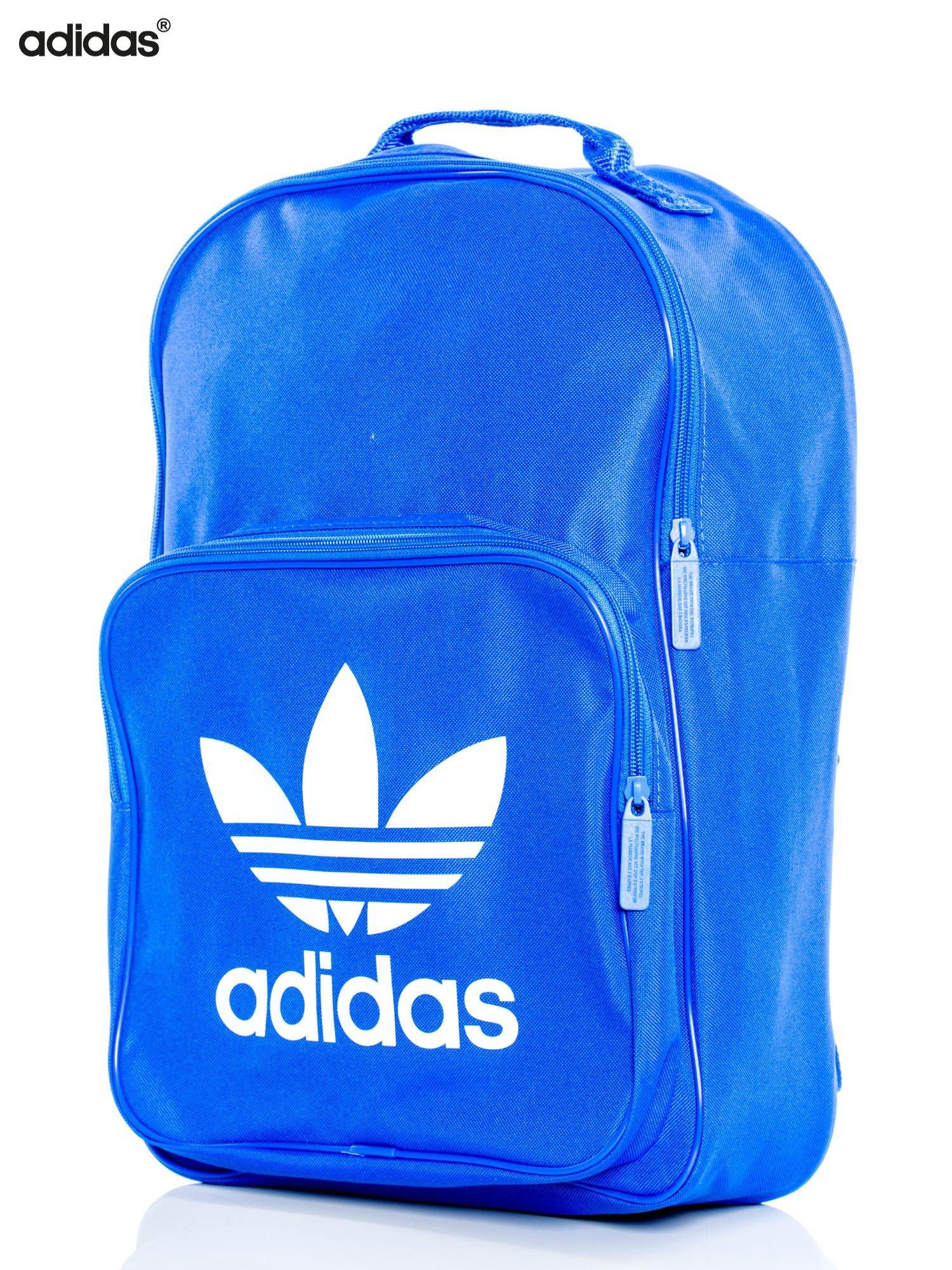 najlepszy design najlepsza obsługa różnie ADIDAS Niebieski usztywniany plecak BK6722 BP CLAS TREFOIL