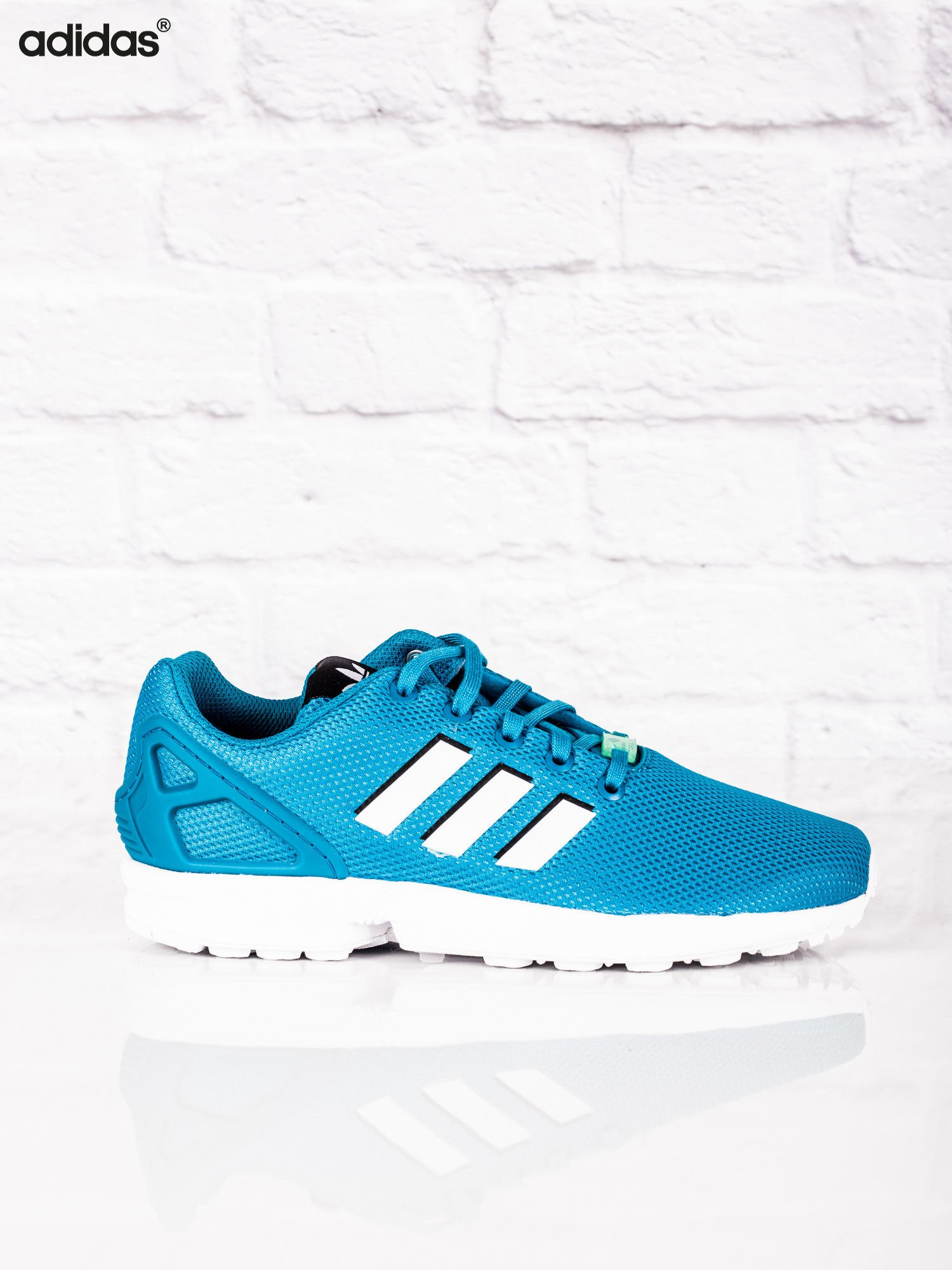 adidas zx flux damskie błękitne
