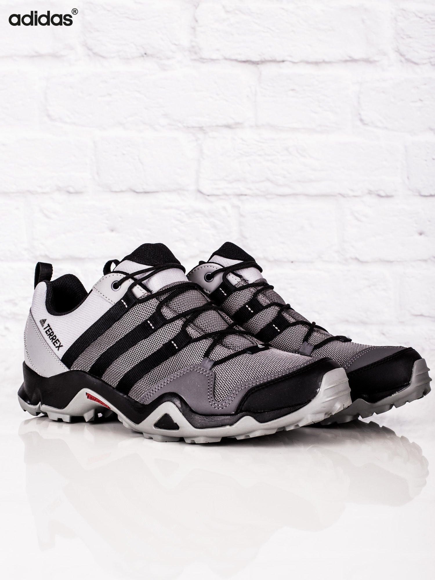 buty adidas szare i czarne meskie