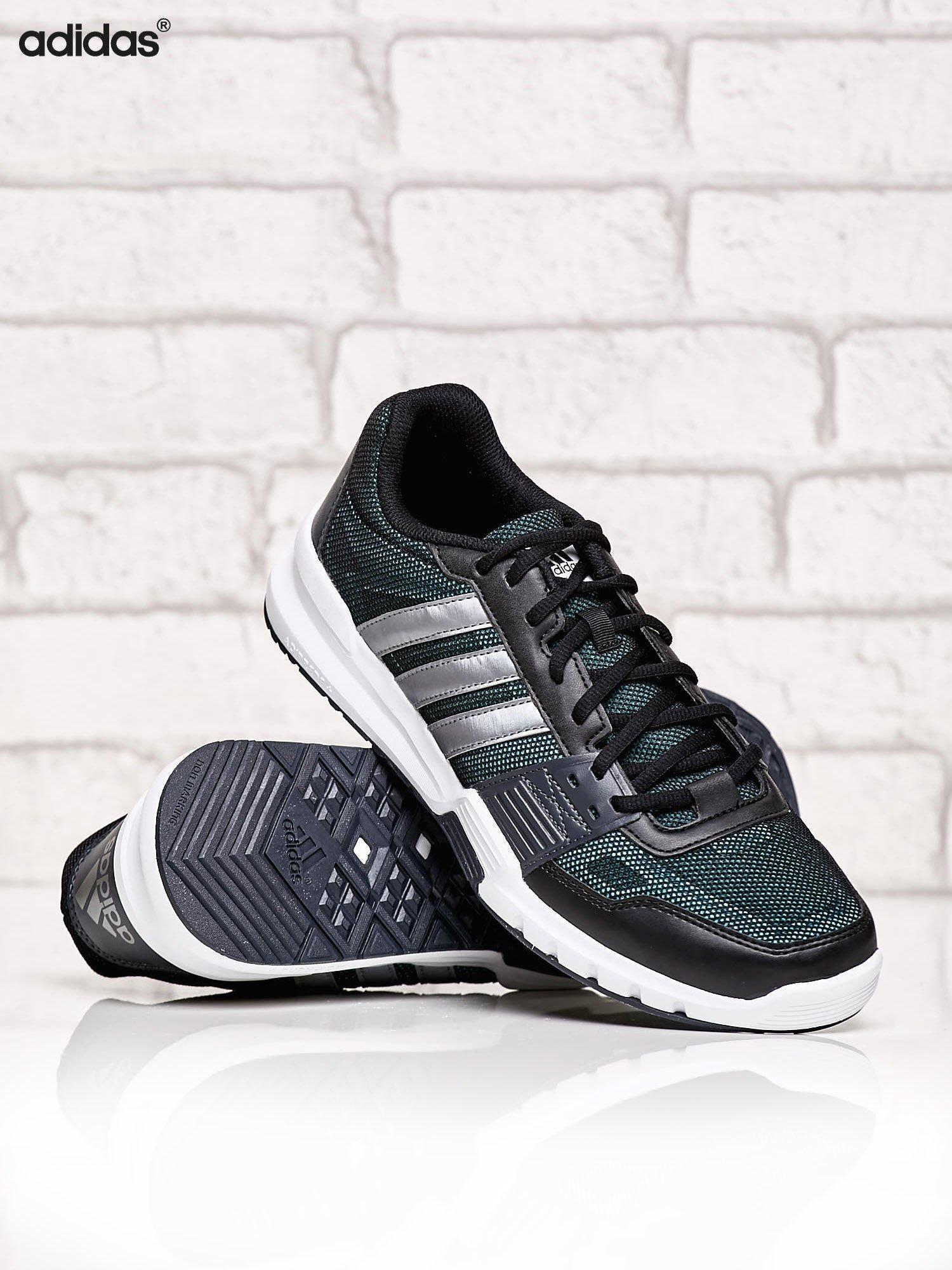 b8825a445381b 2 · ADIDAS czarne buty męskie Essential Star 2 sportowe z siateczką ...