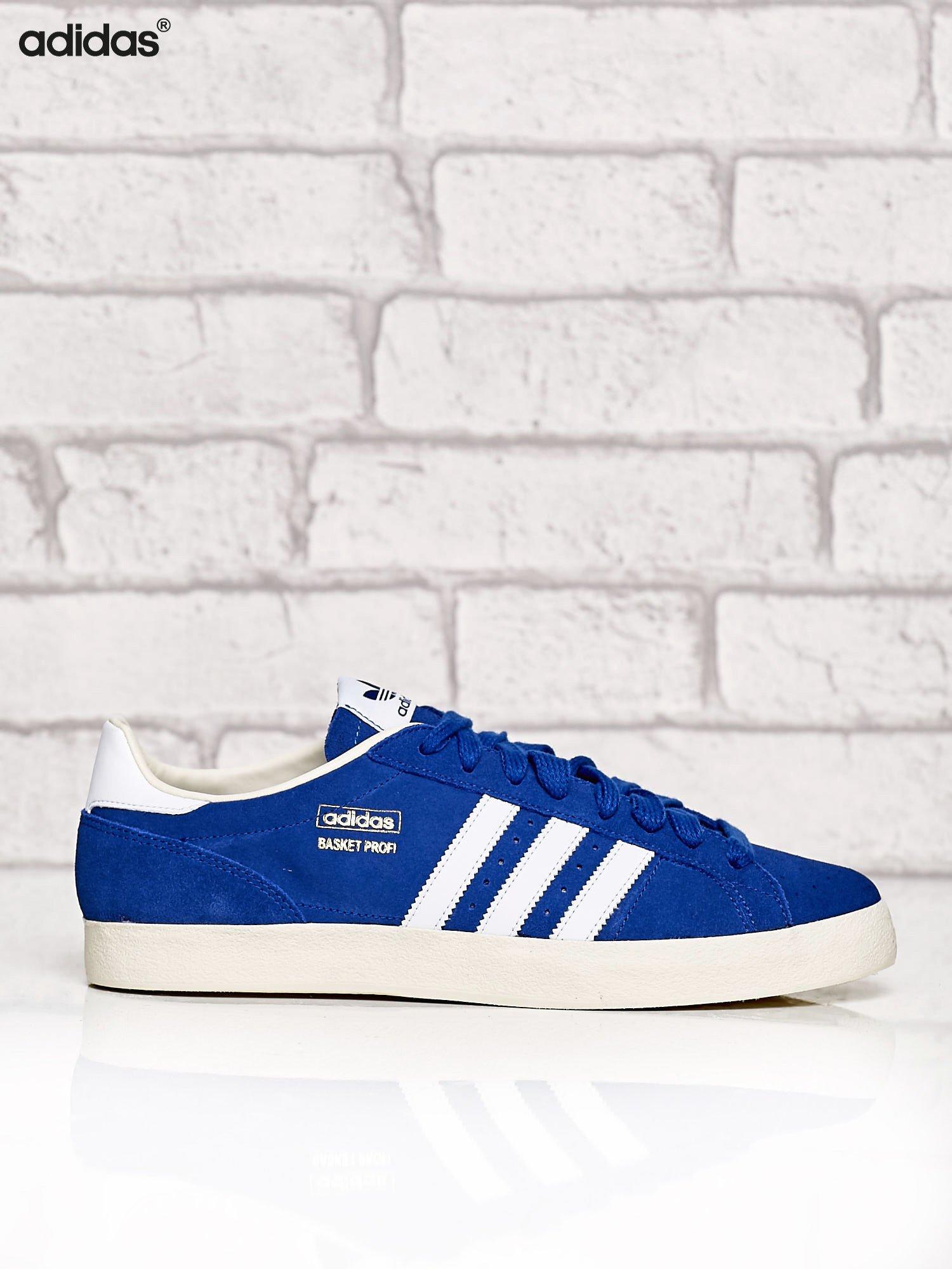 f21057be ADIDAS niebieskie buty męskie Basket Profi Low sportowe przed kostkę ...