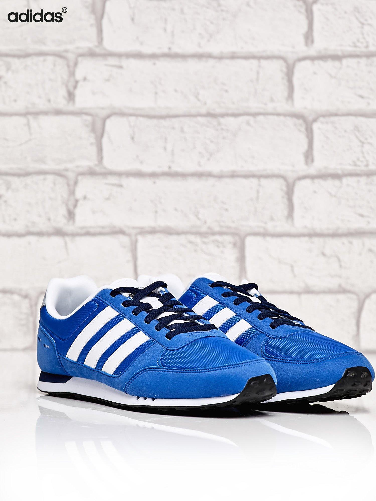 dd0cfca3f339f 1  ADIDAS niebieskie buty męskie Neo City Racer sportowe miejskie ...