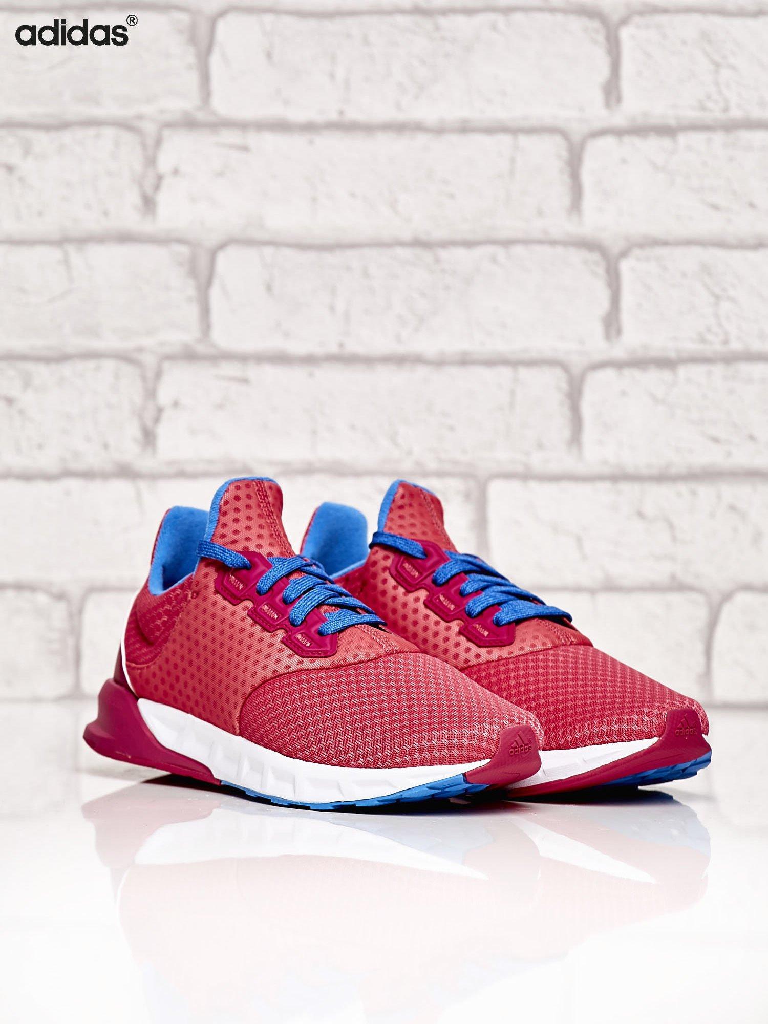 ADIDAS różowe buty sportowe Falcon Elite 5 XJ z kolorowymi sznurówkami