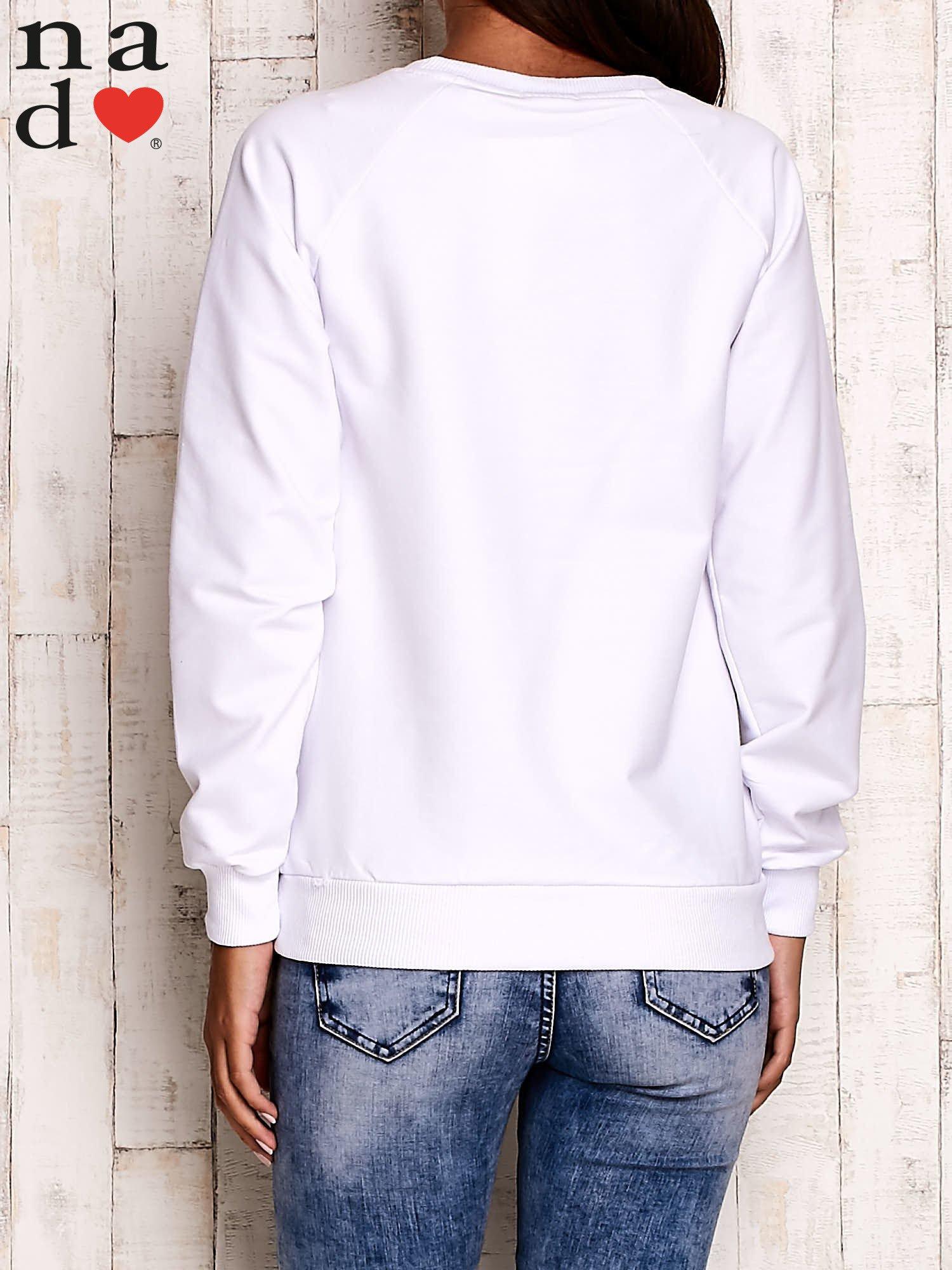 Biała bluza z serduszkami                                  zdj.                                  4