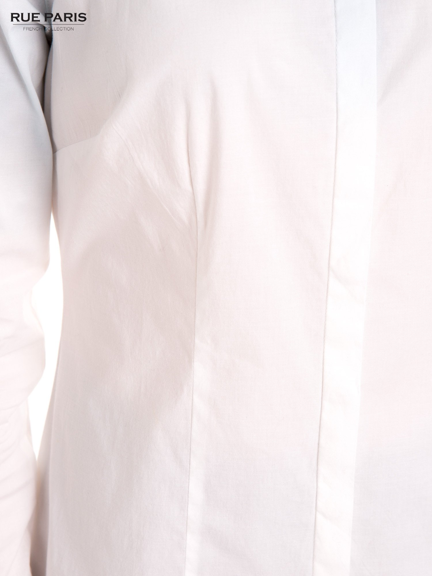 Biała koszula z efektem ombre                                  zdj.                                  7
