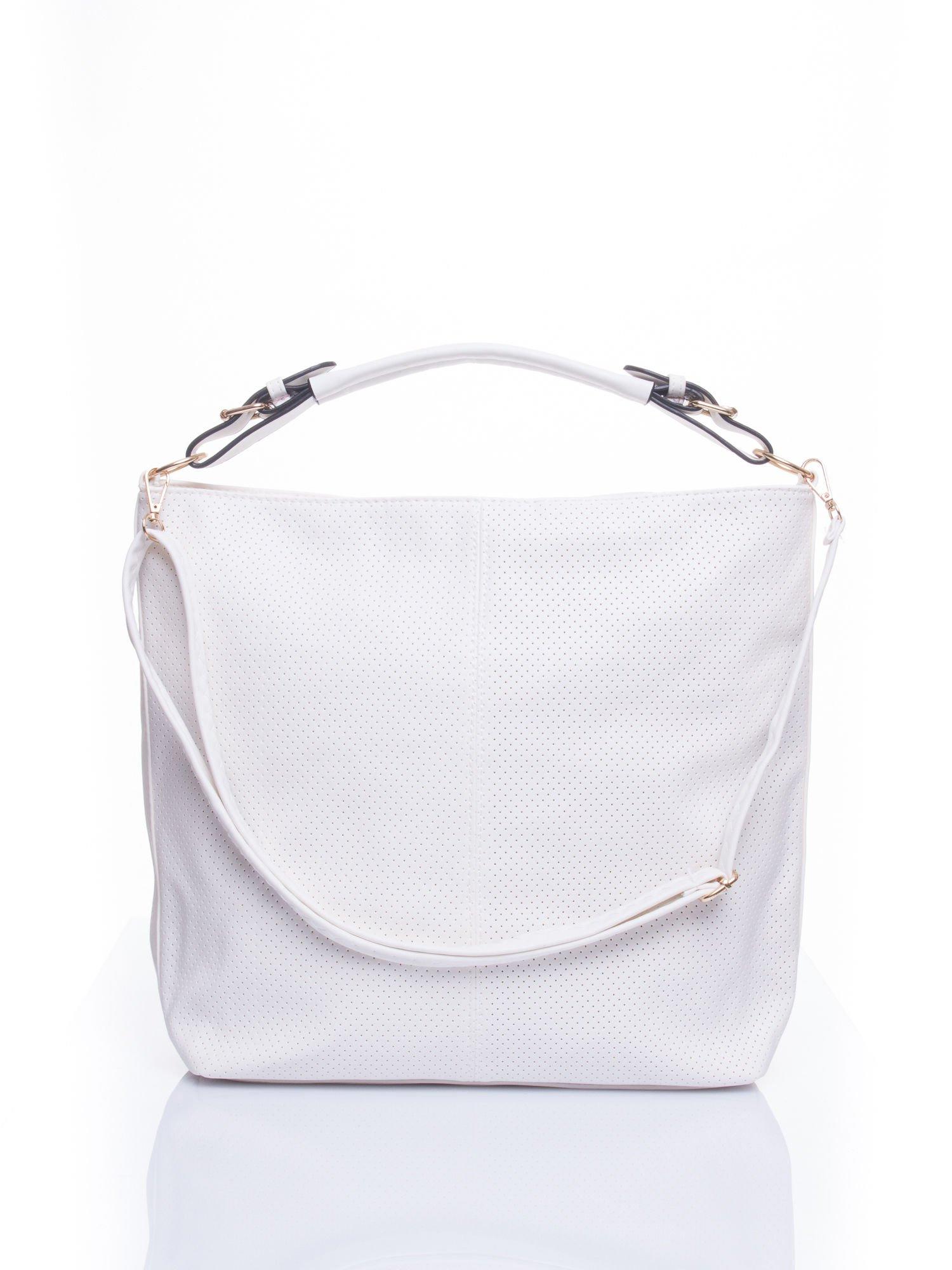 Biała torba damska hobo                                  zdj.                                  1