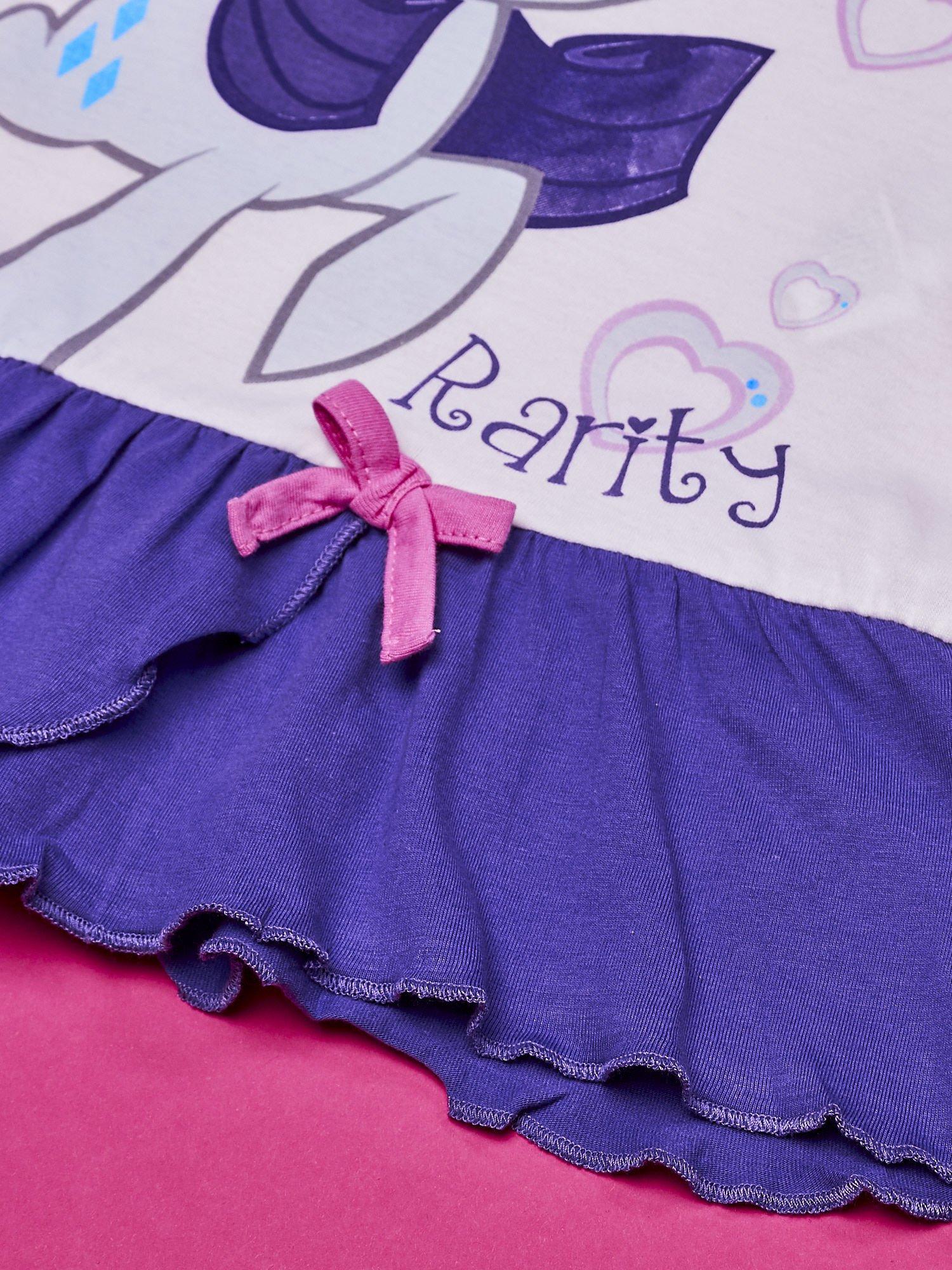 Biała tunika dla dziewczynki MY LITTLE PONY                                  zdj.                                  3