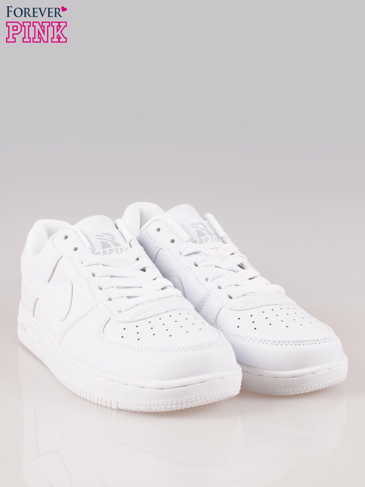 589132aa65889 Białe buty sportowe na grubej podeszwie - Buty Buty sportowe - sklep  eButik.pl