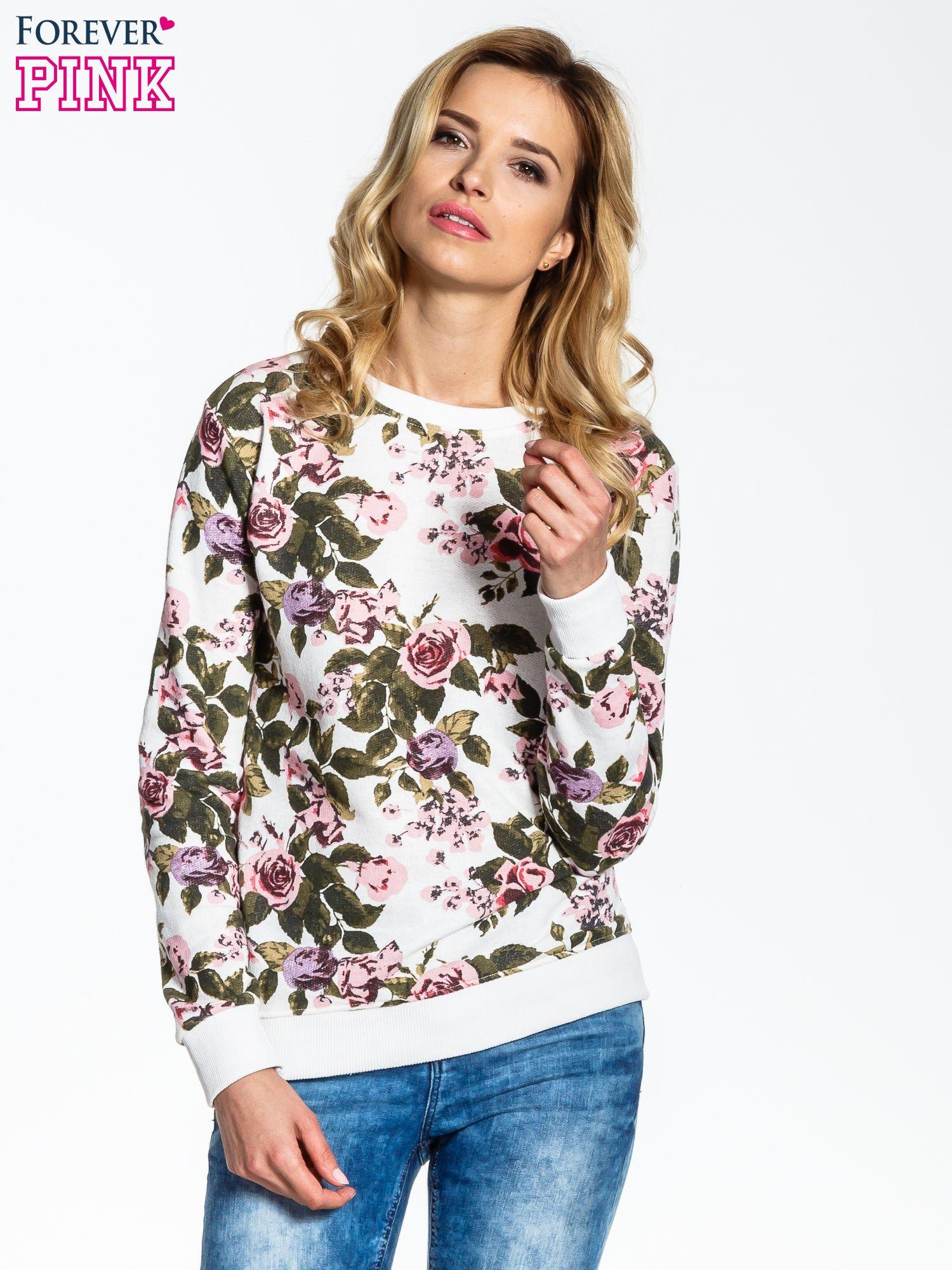 Bluza w kwiatowe wzory                                  zdj.                                  1
