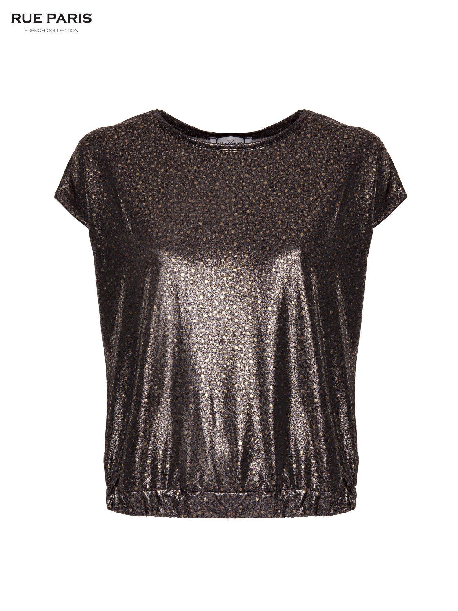 Błyszcząca bluzka w stylu disco                                  zdj.                                  1