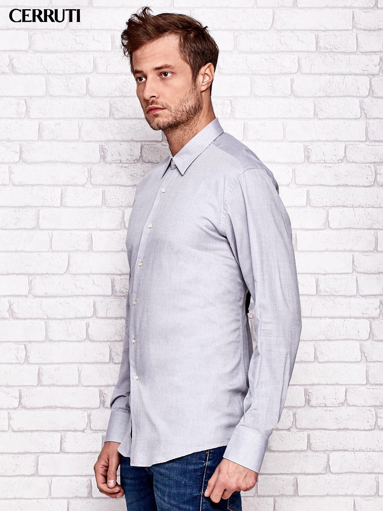 ff6914e45b948 CERRUTI Jasnoszara koszula męska - Mężczyźni koszula męska - sklep ...