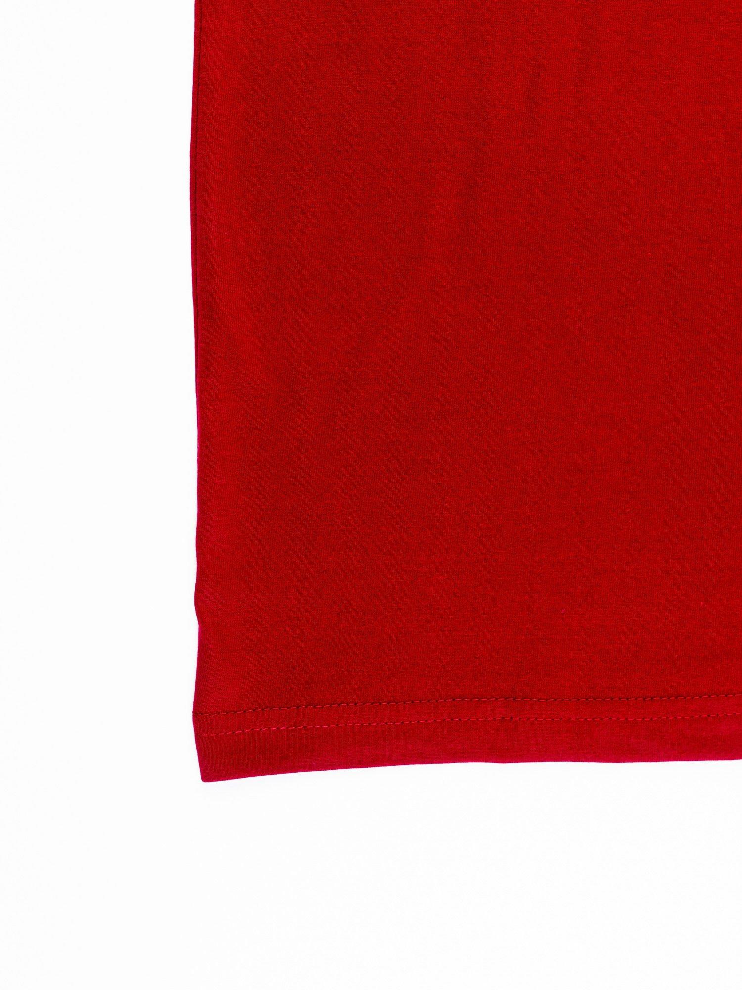 Ciemnoczerwony t-shirt męski FC BARCELONA                                   zdj.                                  13