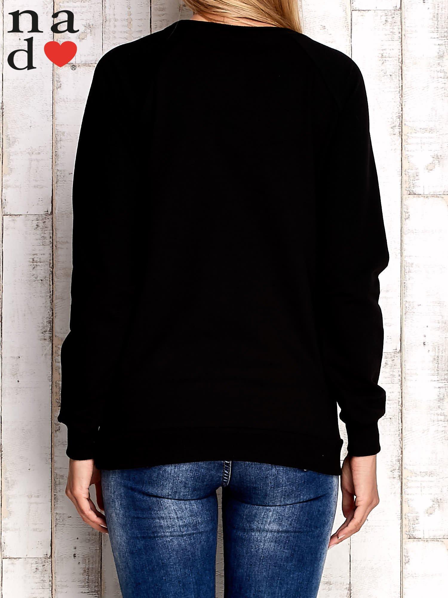 Czarna bluza z cyfrą 27                                  zdj.                                  2