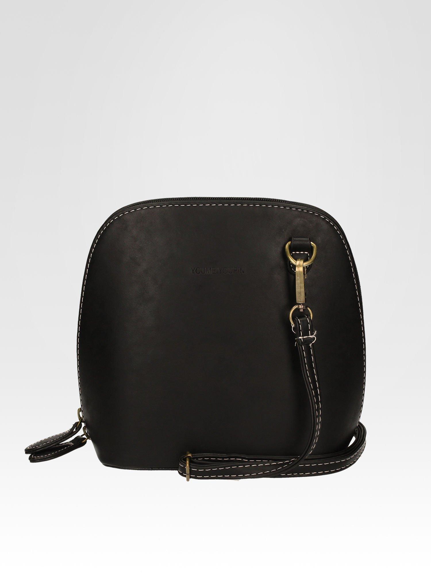 Czarna elegancka listonoszka z odpinanaym paskiem                                  zdj.                                  4