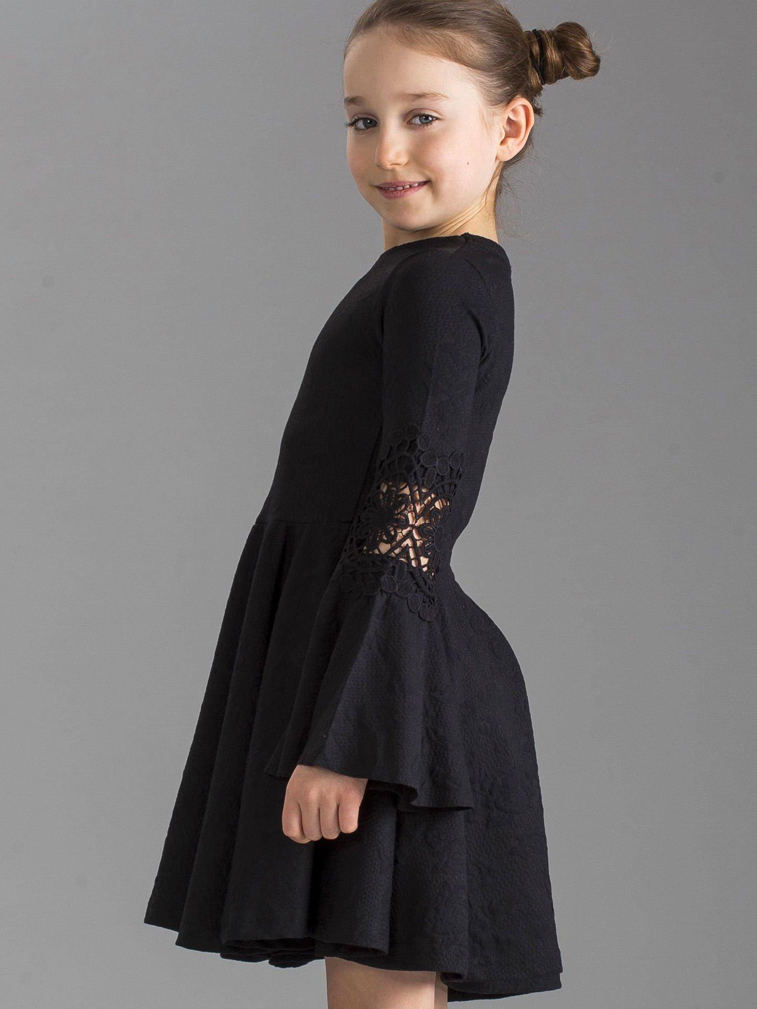 czarna sukienka dla nastolatków afrykański łup kurwa