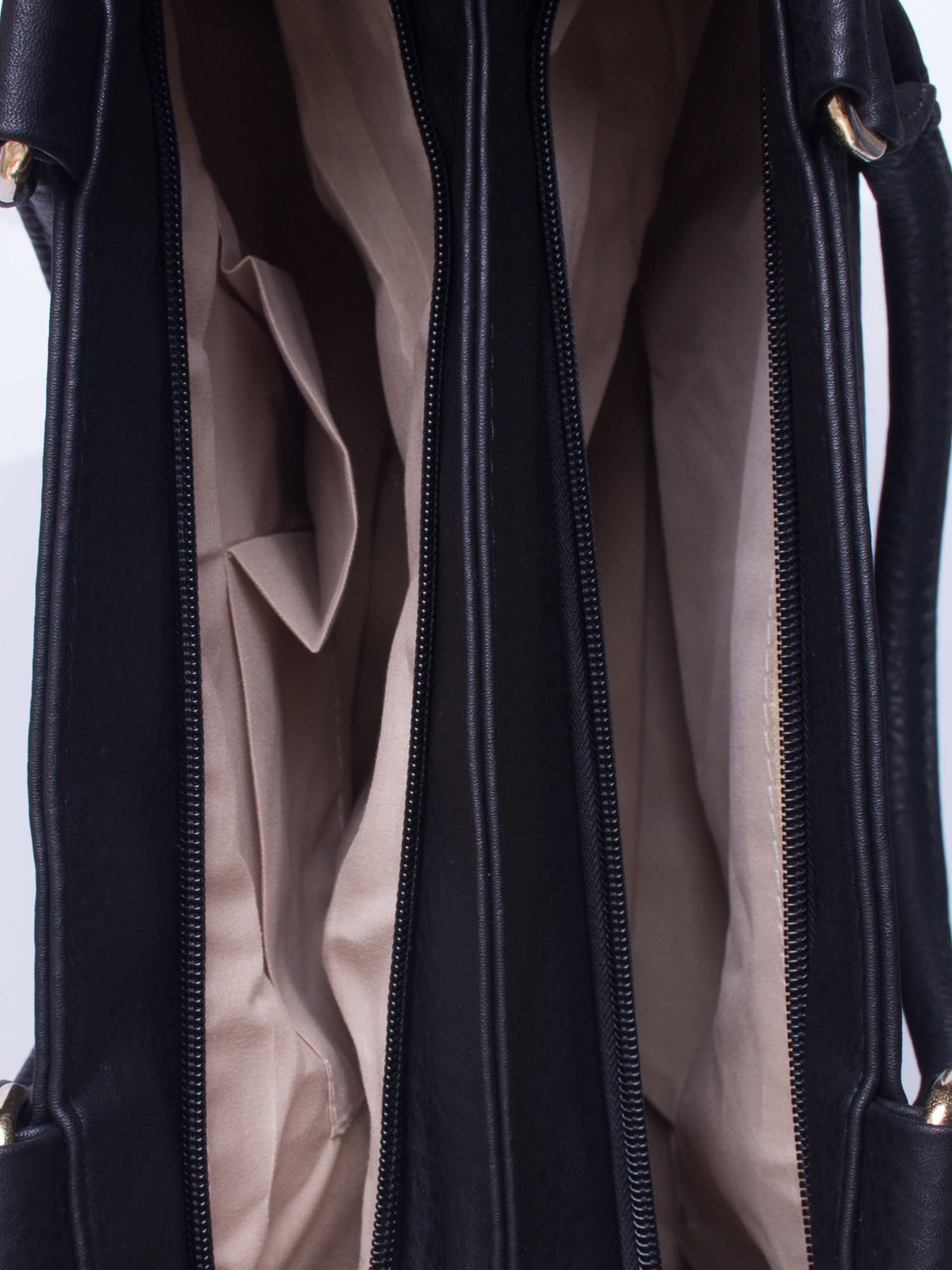 Czarna torba miejska na ramię                                  zdj.                                  5