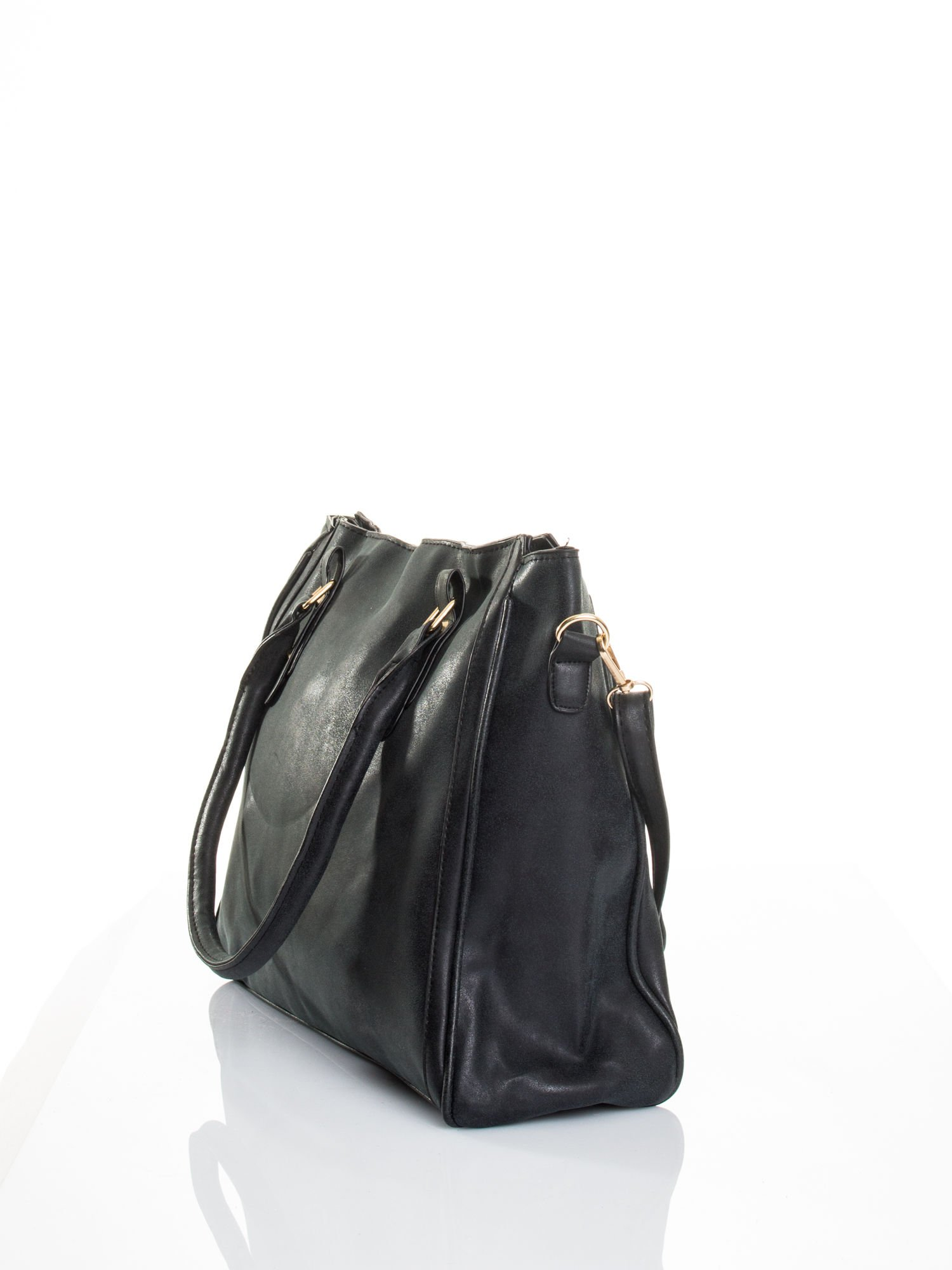 Czarna torebka miejska                                  zdj.                                  3