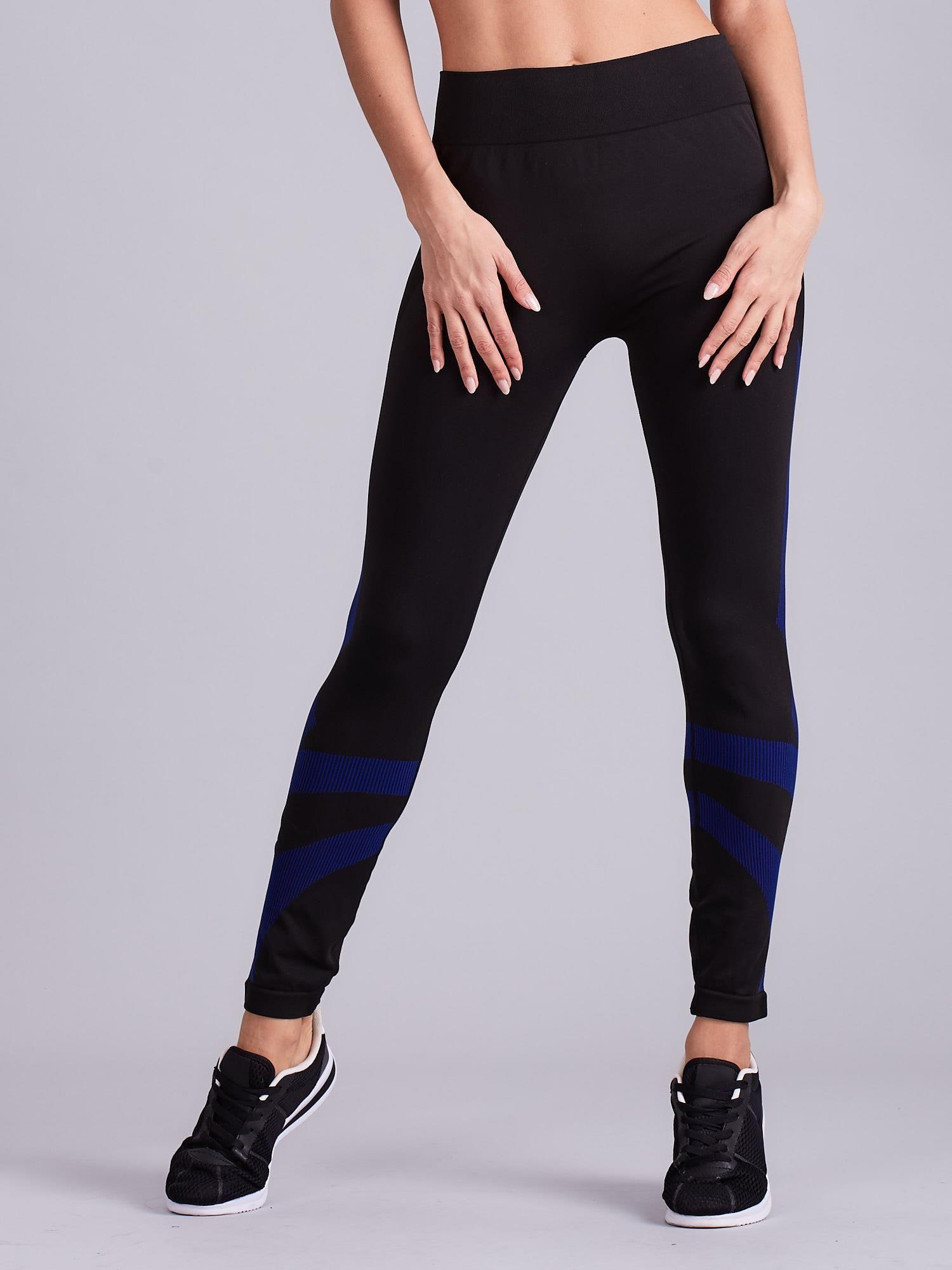 6e14ab73 Czarne damskie legginsy sportowe