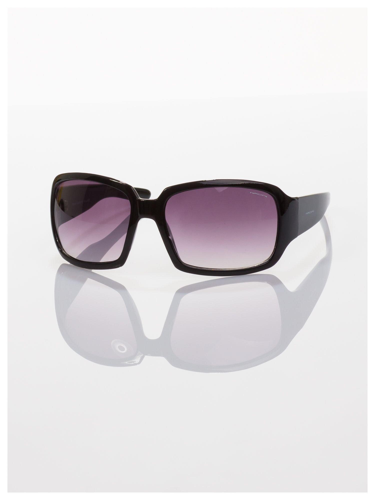 Czarne okulary przeciwsłoneczne dobrze eliminujące refleksy świetlne                                  zdj.                                  1
