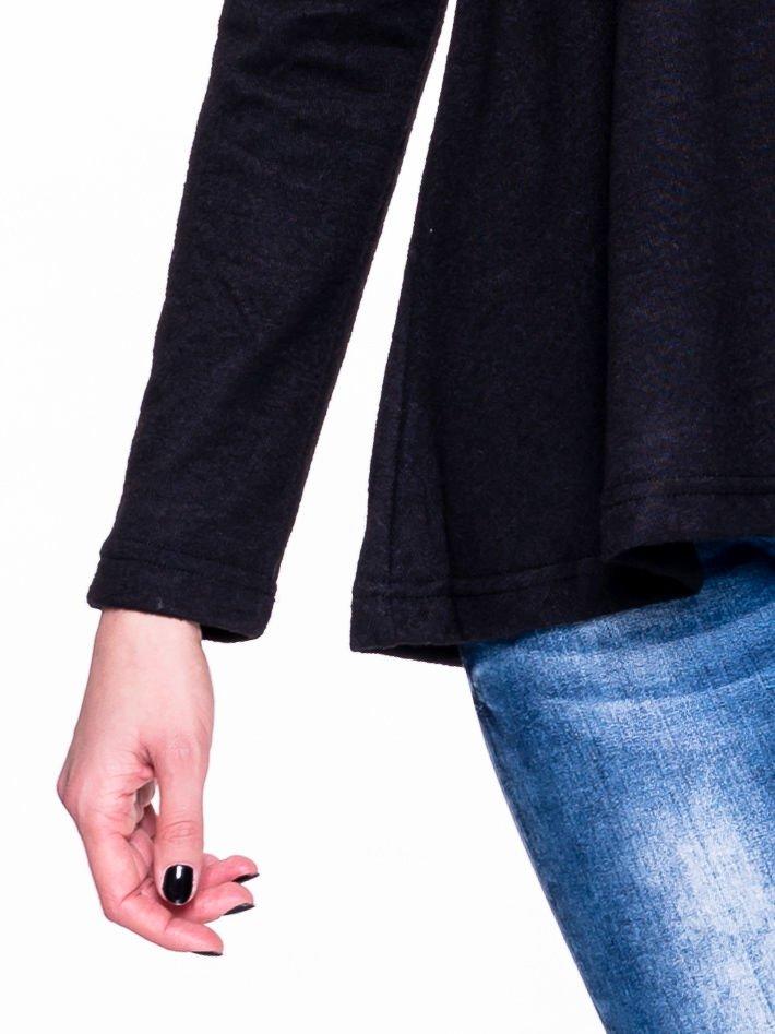 Czarny klasyczny sweterek                                  zdj.                                  5