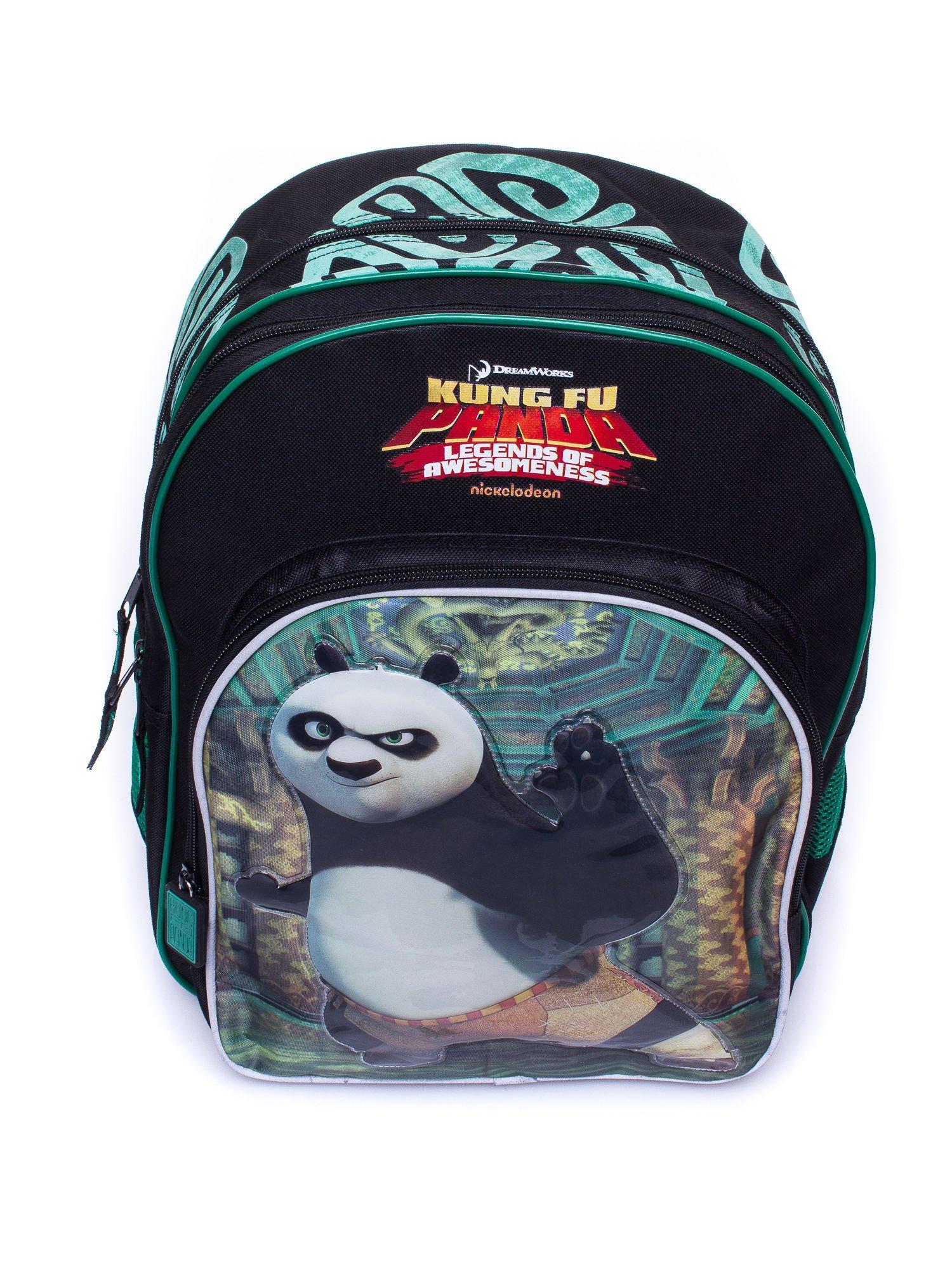 Czarny plecak szkolny DISNEY Kung Fu Panda                                  zdj.                                  5