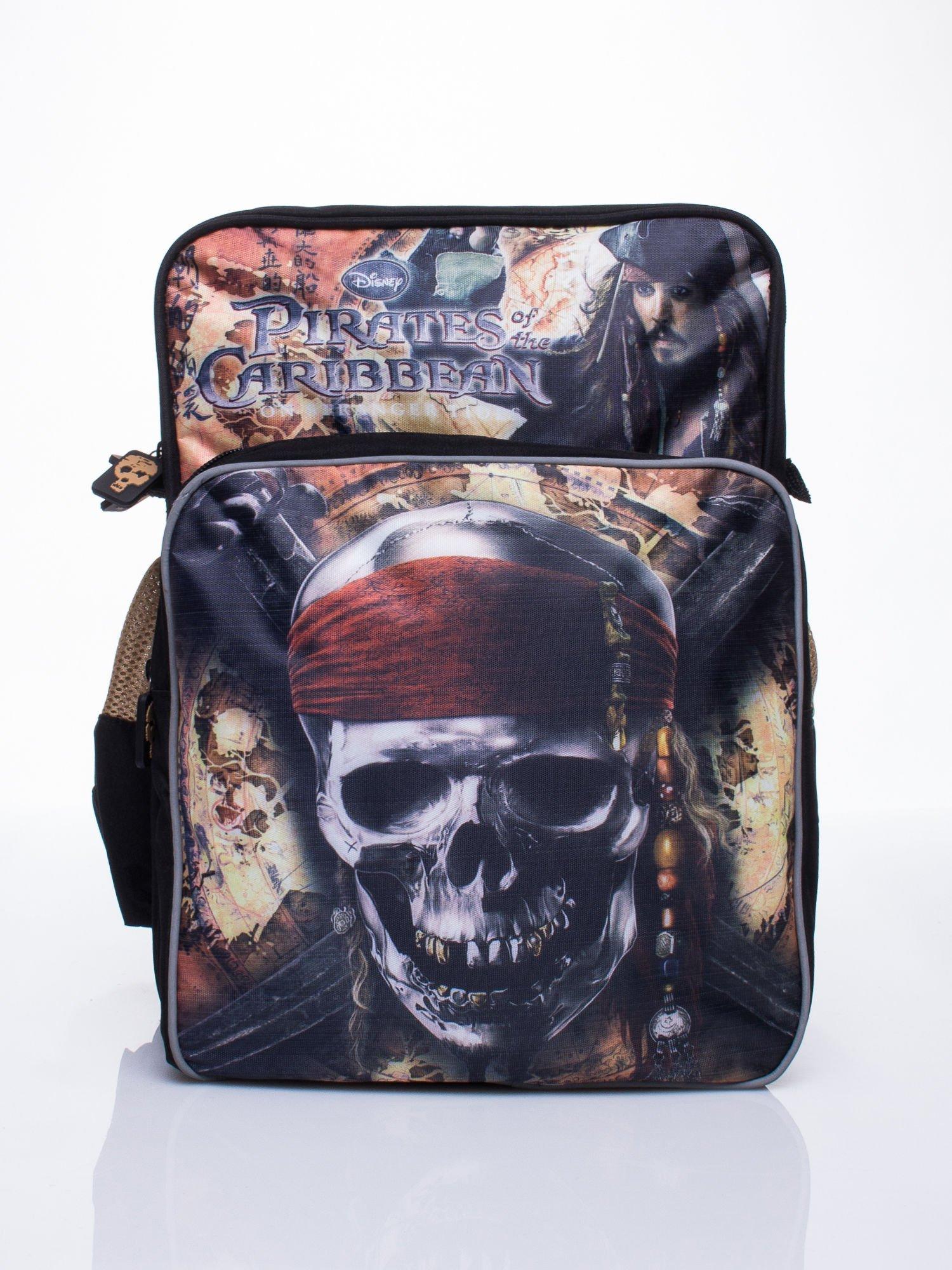 Czarny plecak szkolny DISNEY Piraci z Karaibów                                  zdj.                                  1