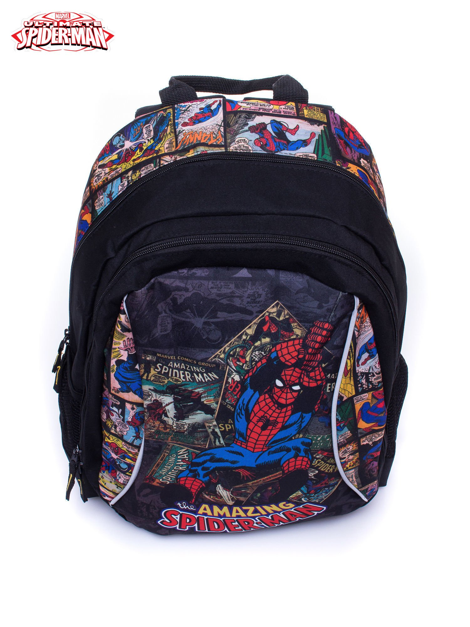 Czarny plecak szkolny MARVEL Spiderman                                  zdj.                                  5