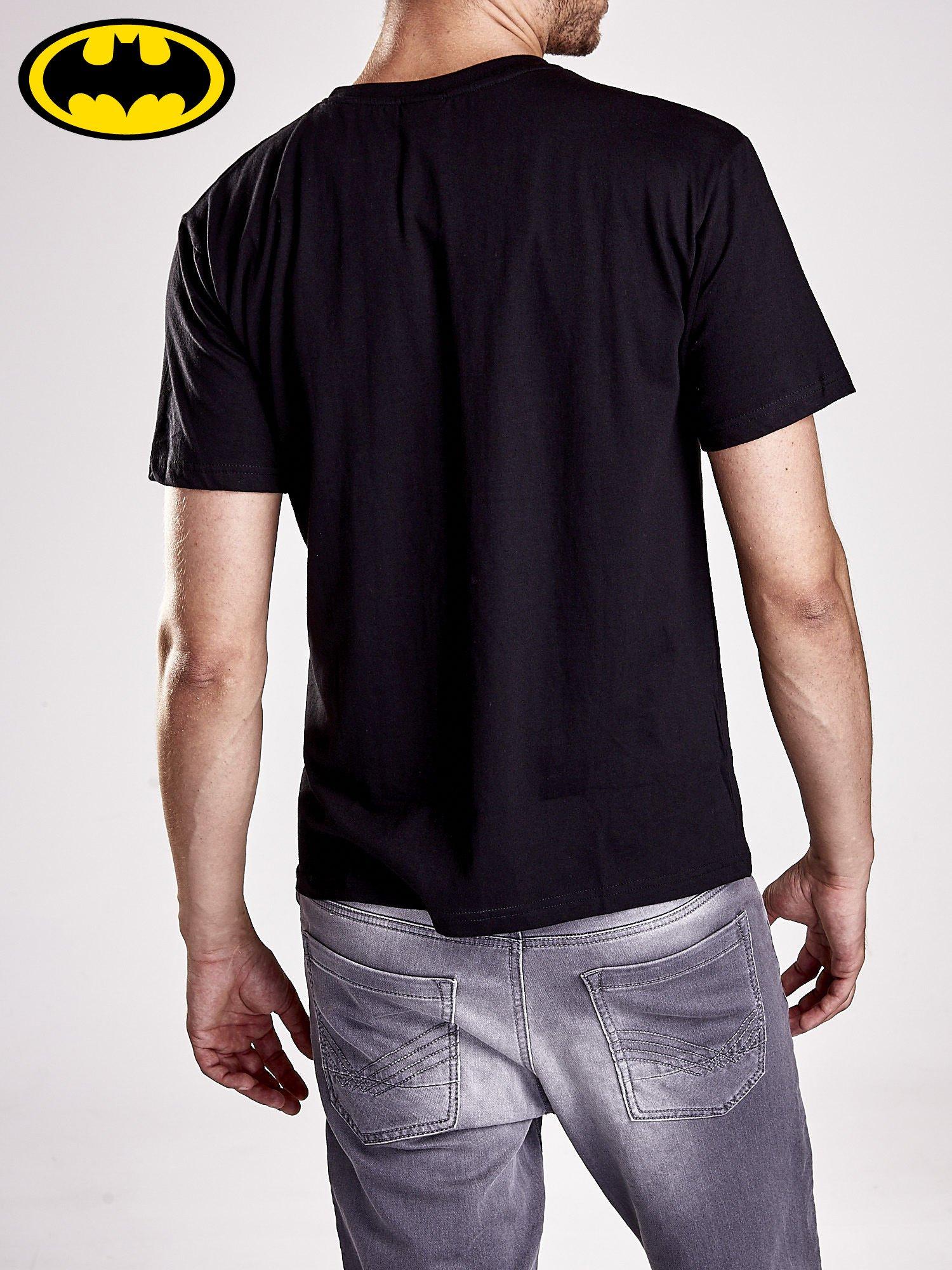 Czarny t-shirt męski BATMAN                                  zdj.                                  6