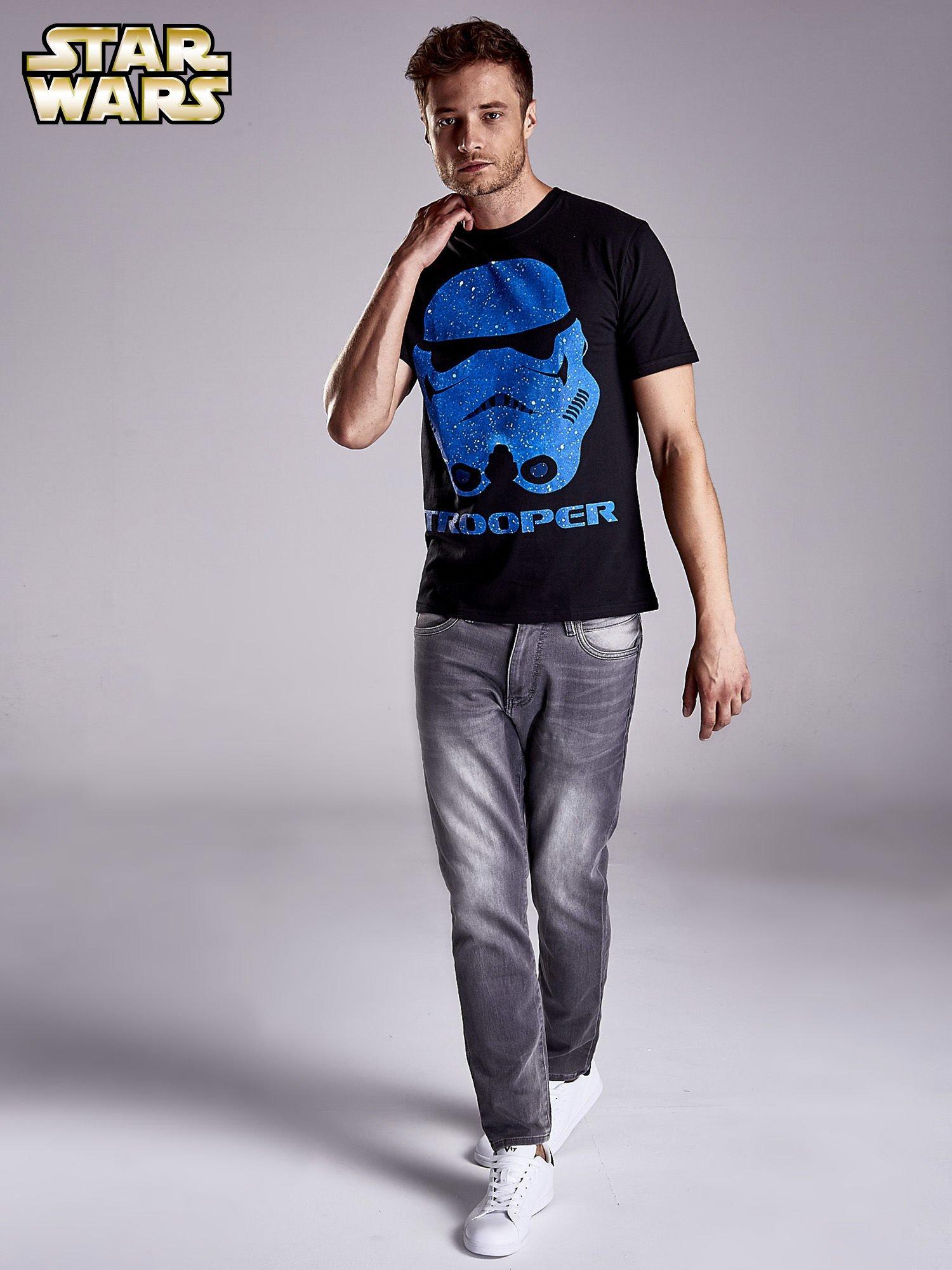 Czarny t-shirt męski STAR WARS                                  zdj.                                  4