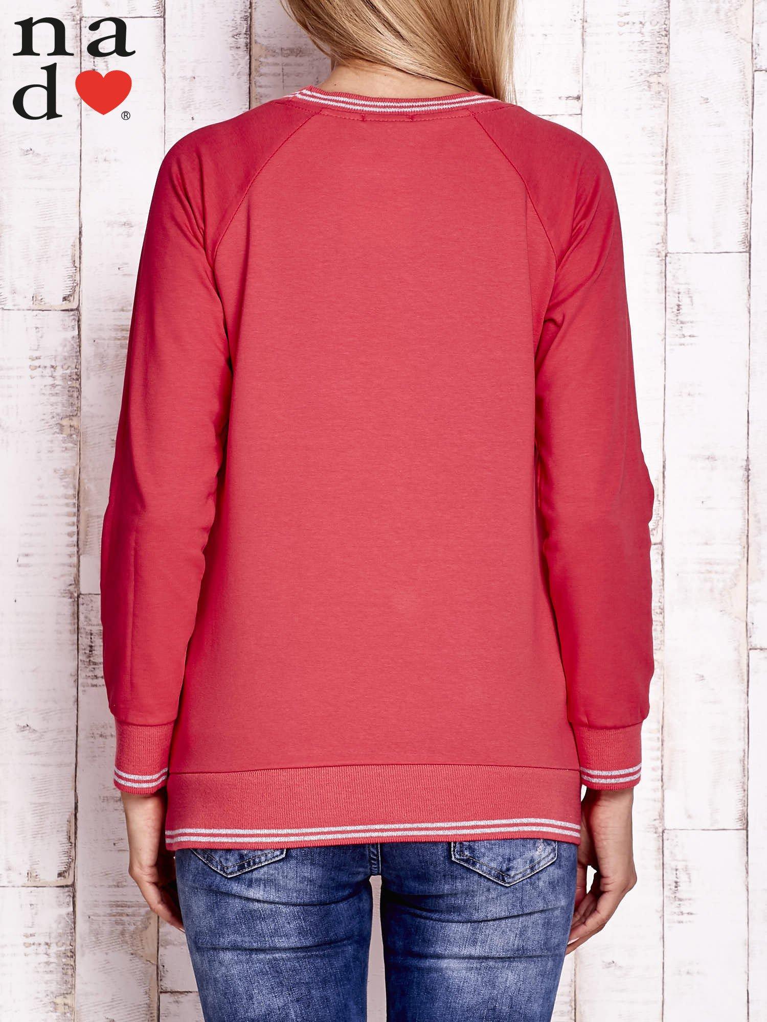 Czerwona bluza z napisem SIEMA                                  zdj.                                  4