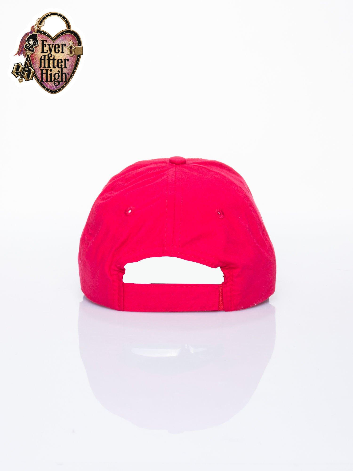 Czerwona czapka z daszkiem dla dziewczynki EVER AFTER HIGH                                  zdj.                                  3