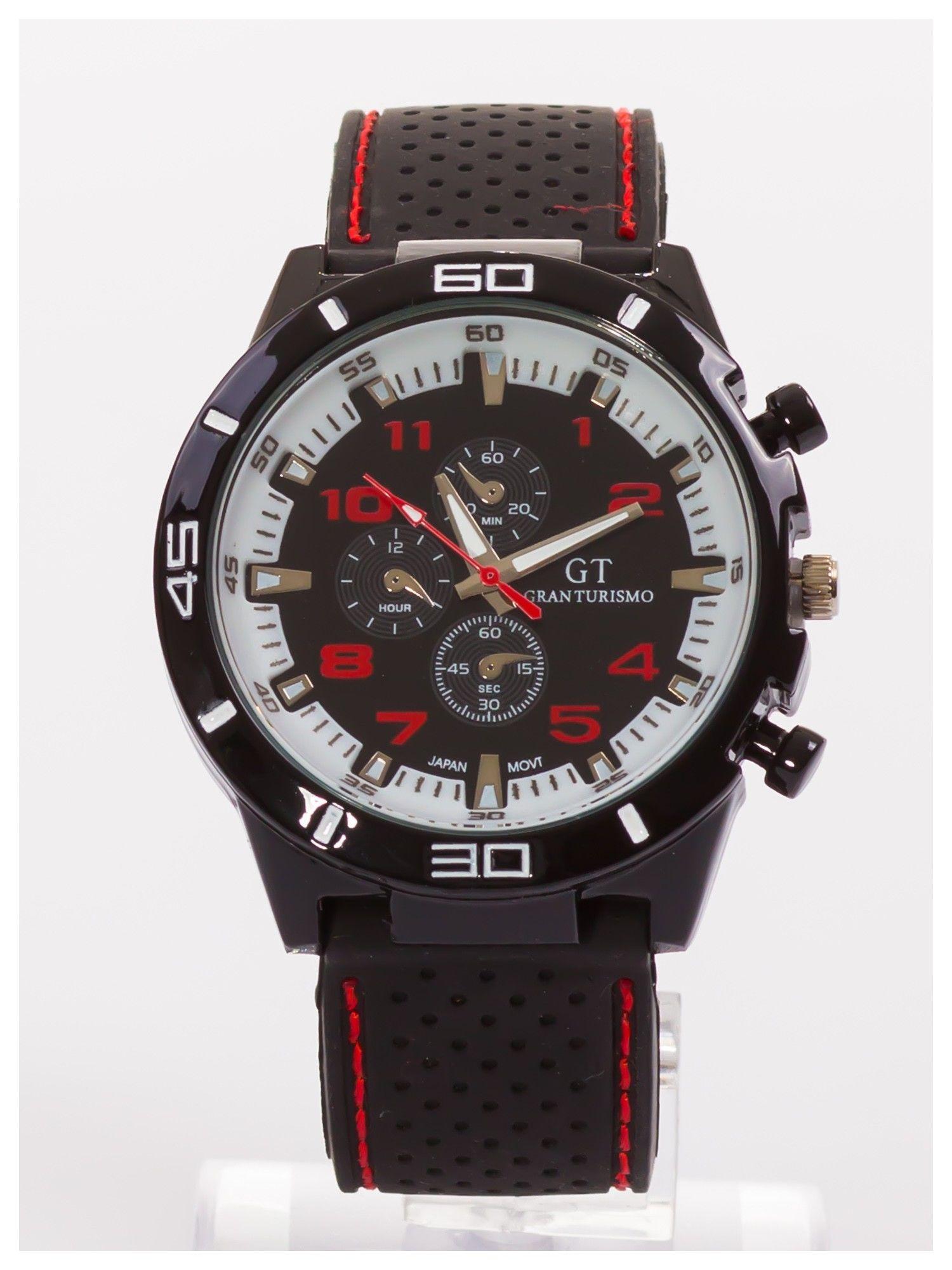 DLA NIEGO... Sportowy zegarek męski GT GRAND TOURING                                  zdj.                                  1