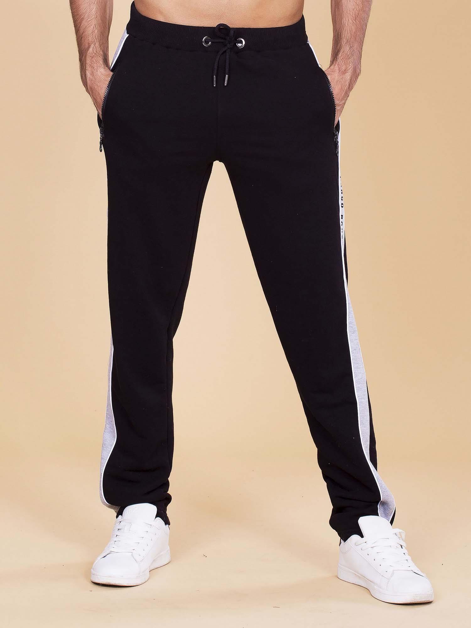 dc32b97b1474e Czarne Spodnie Lampasami Dresowe Z Męskie wBRY6ZISq
