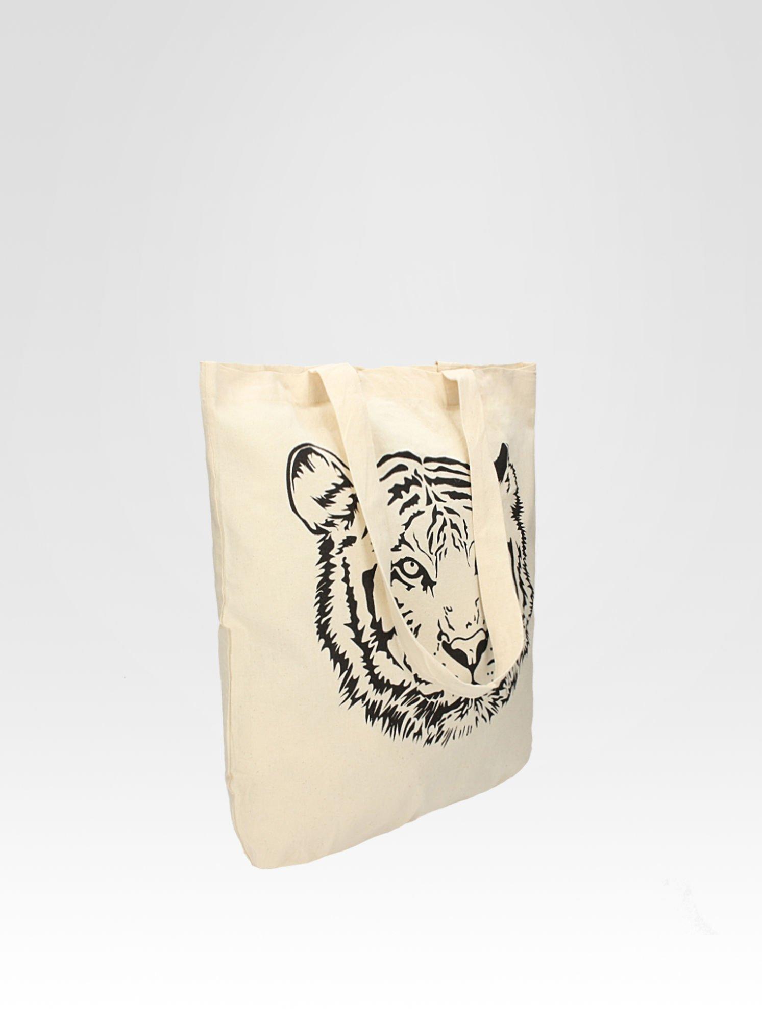 Ekotorba na zakupy z nadrukiem tygrysa                                  zdj.                                  2