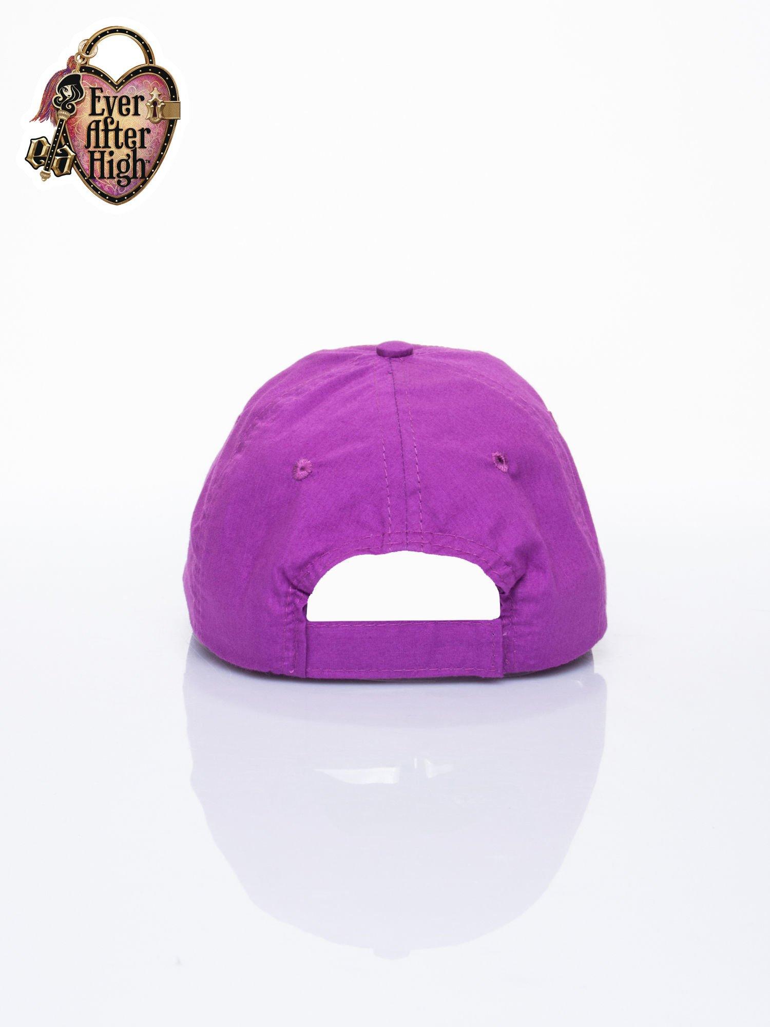 Fioletowa czapka z daszkiem dla dziewczynki EVER AFTER HIGH                                  zdj.                                  3