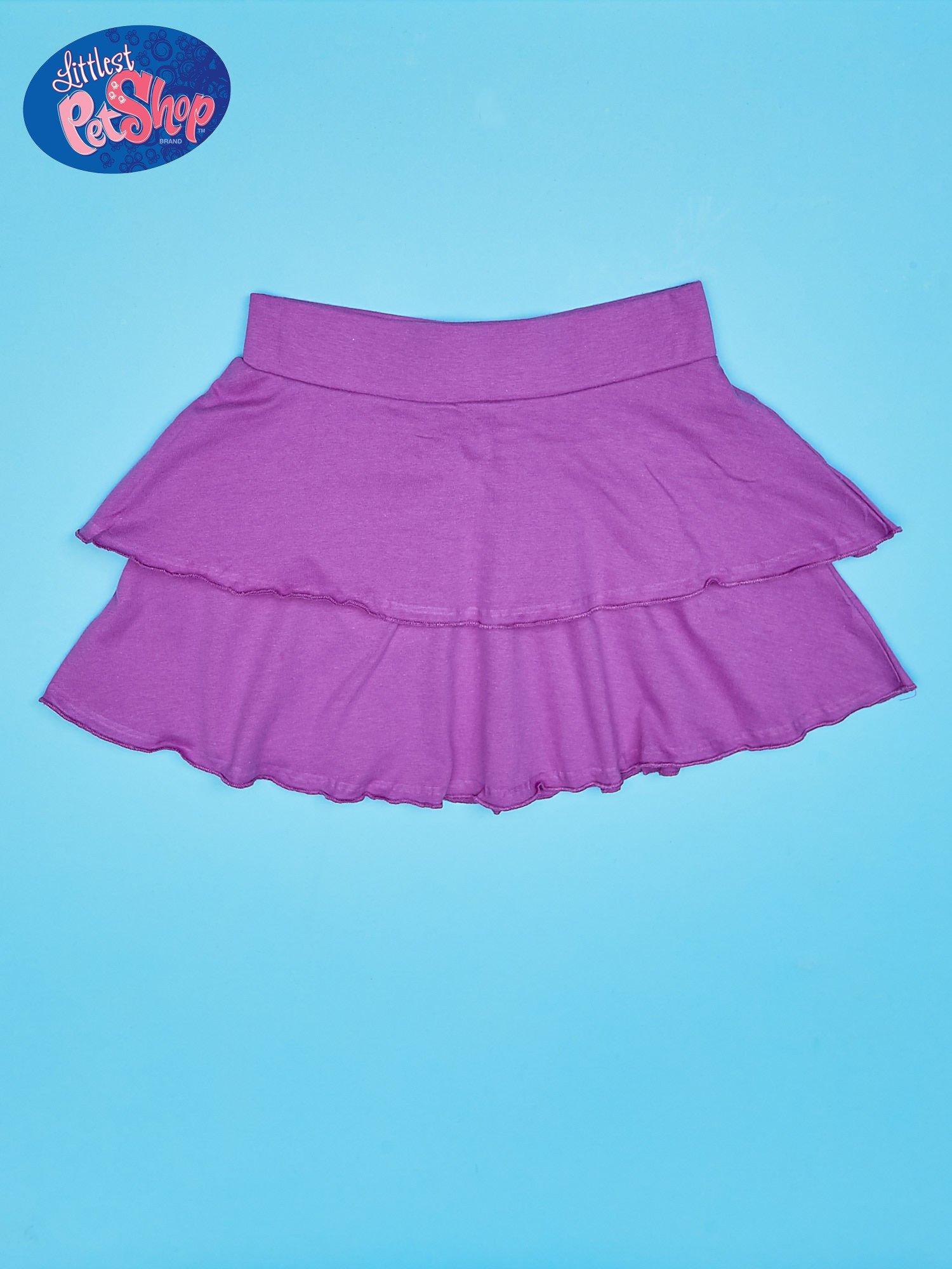 Fioletowa spódnica dla dziewczynki LITTLEST PET SHOP                                  zdj.                                  2