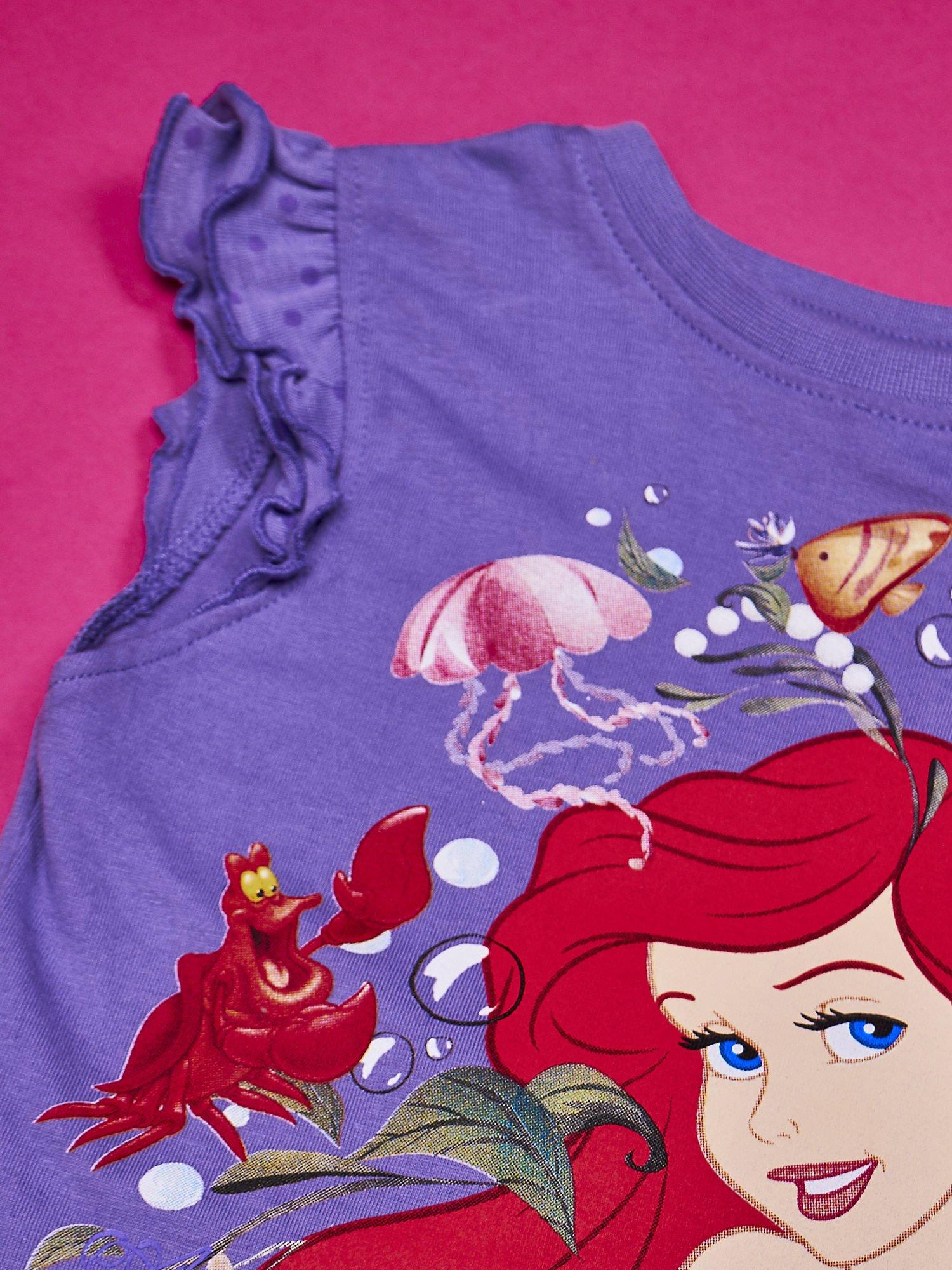 Fioletowa tunika dla dziewczynki MAŁA SYRENKA                                  zdj.                                  5
