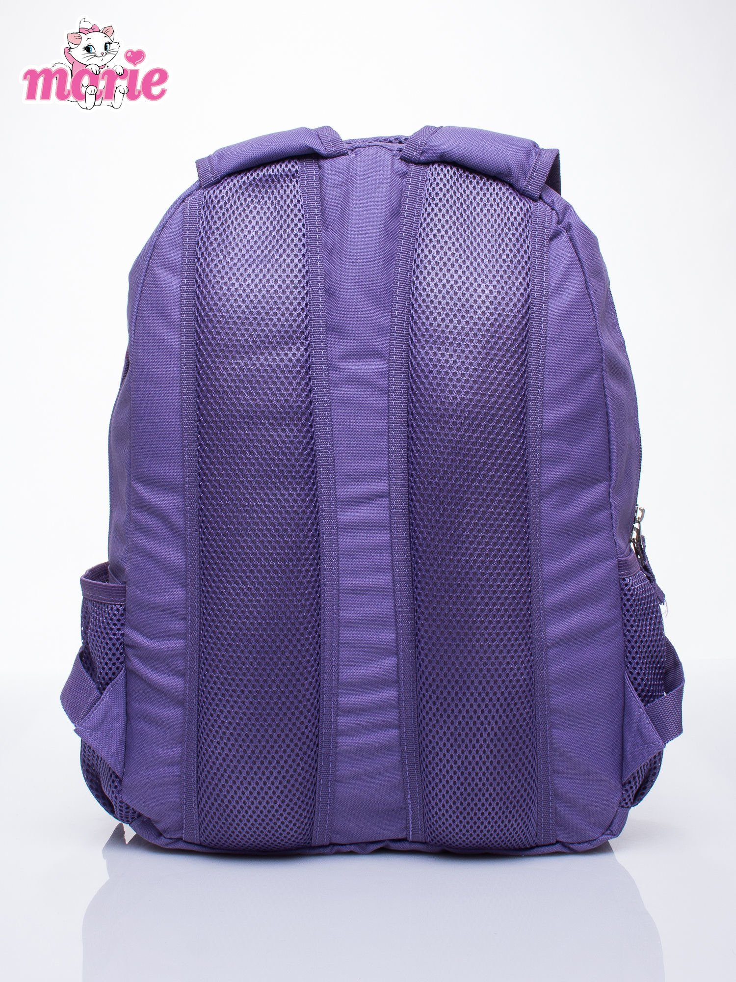 Fioletowy plecak szkolny DISNEY kotka Marie                                  zdj.                                  4