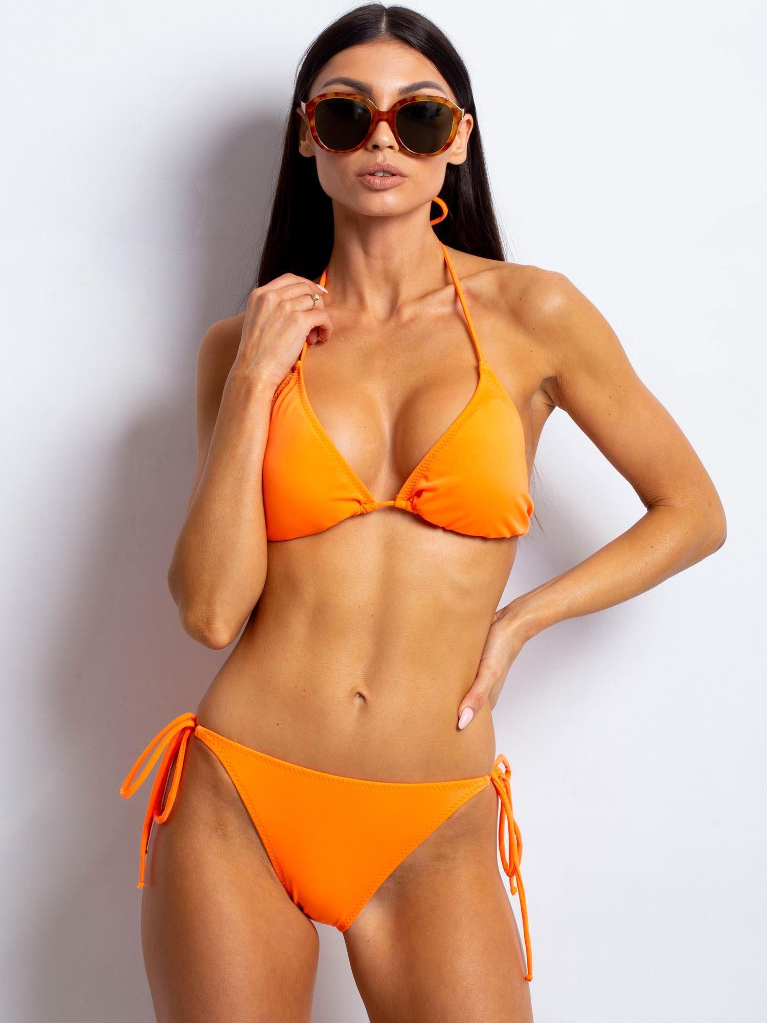 5f7e8fa62ecf51 Fluo pomarańczowy strój kąpielowy Watchme - Bielizna strój kąpielowy -  sklep eButik.pl