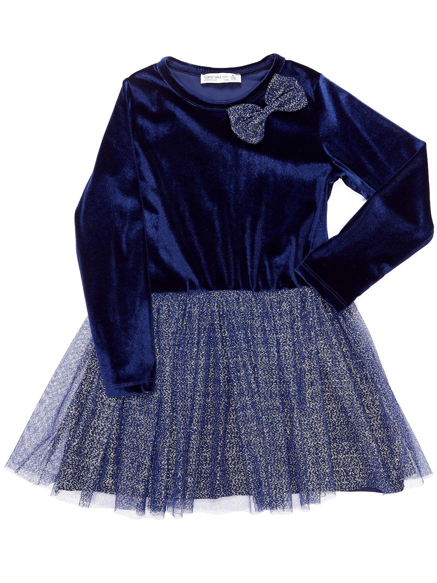 0750dc6a86 Czerwona aksamitna sukienka dla dziewczynki - Dziecko Dziewczynka - sklep  eButik.pl
