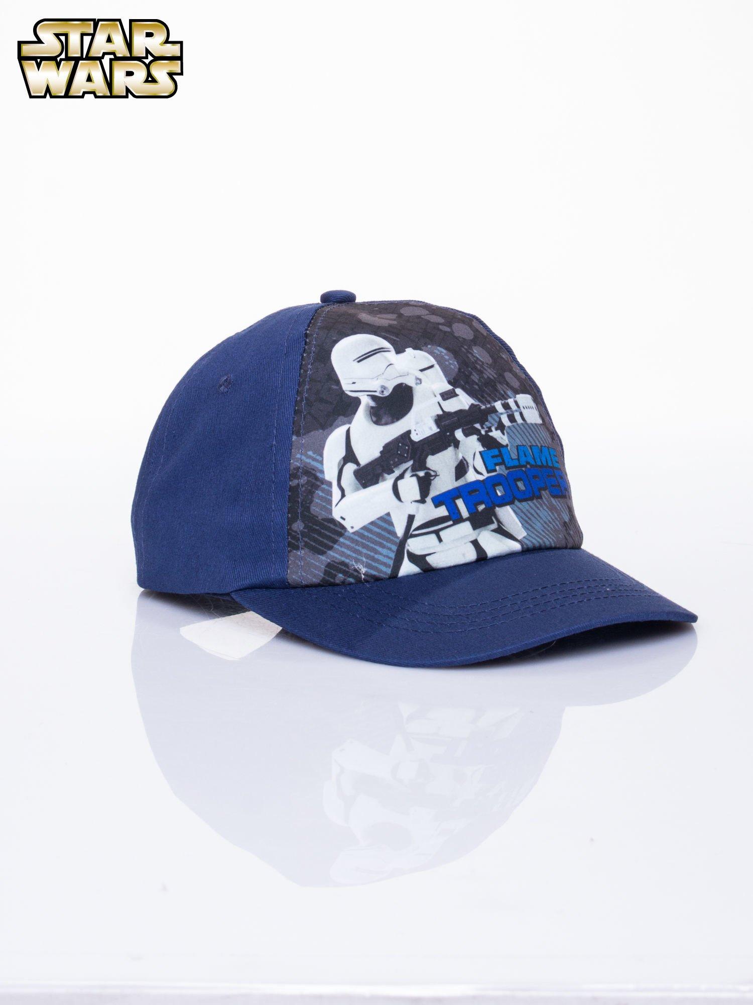 Granatowa chłopięca czapka z daszkiem STAR WARS                                  zdj.                                  2