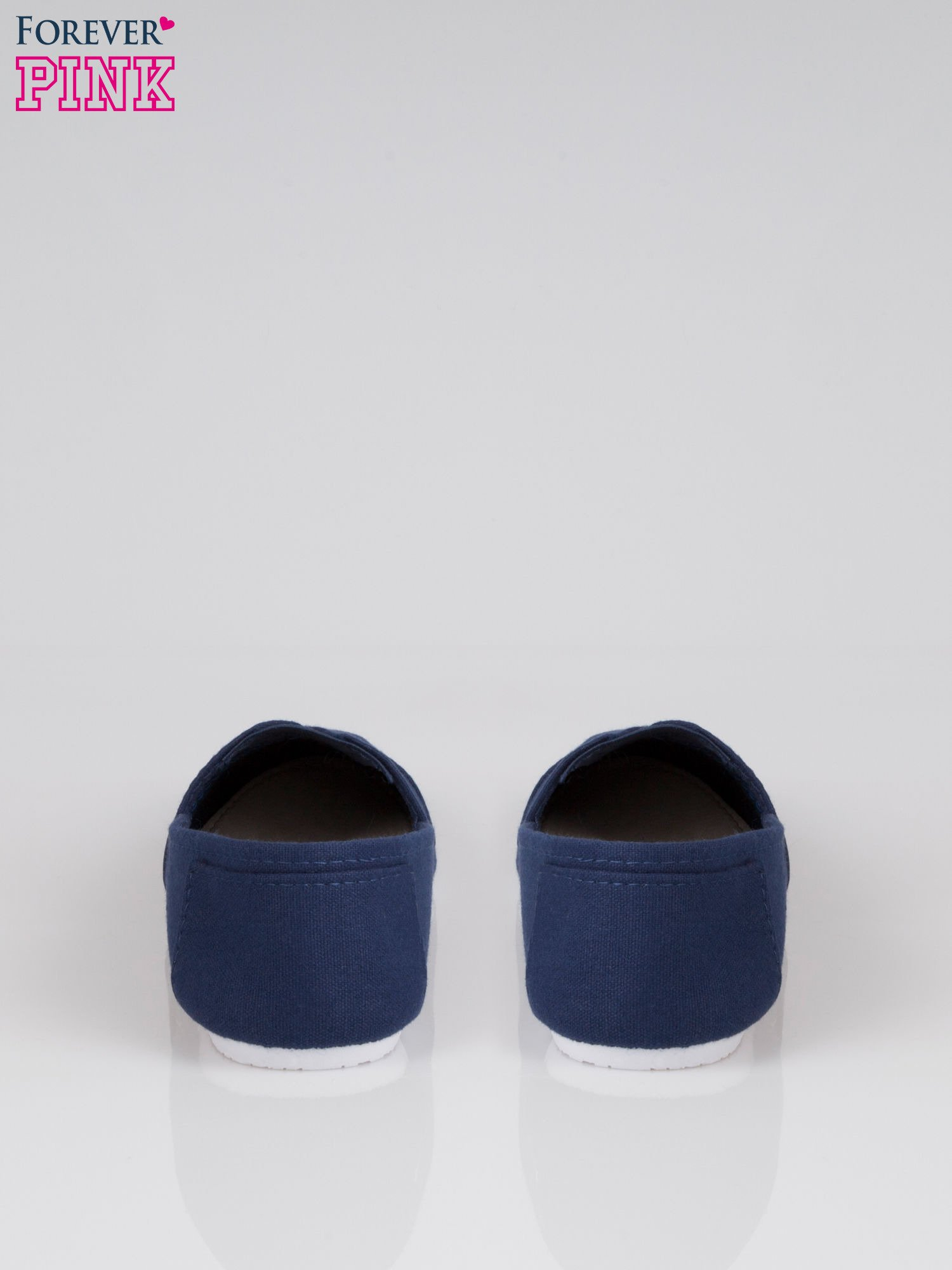 Granatowe lekkie buty slip on                                  zdj.                                  3
