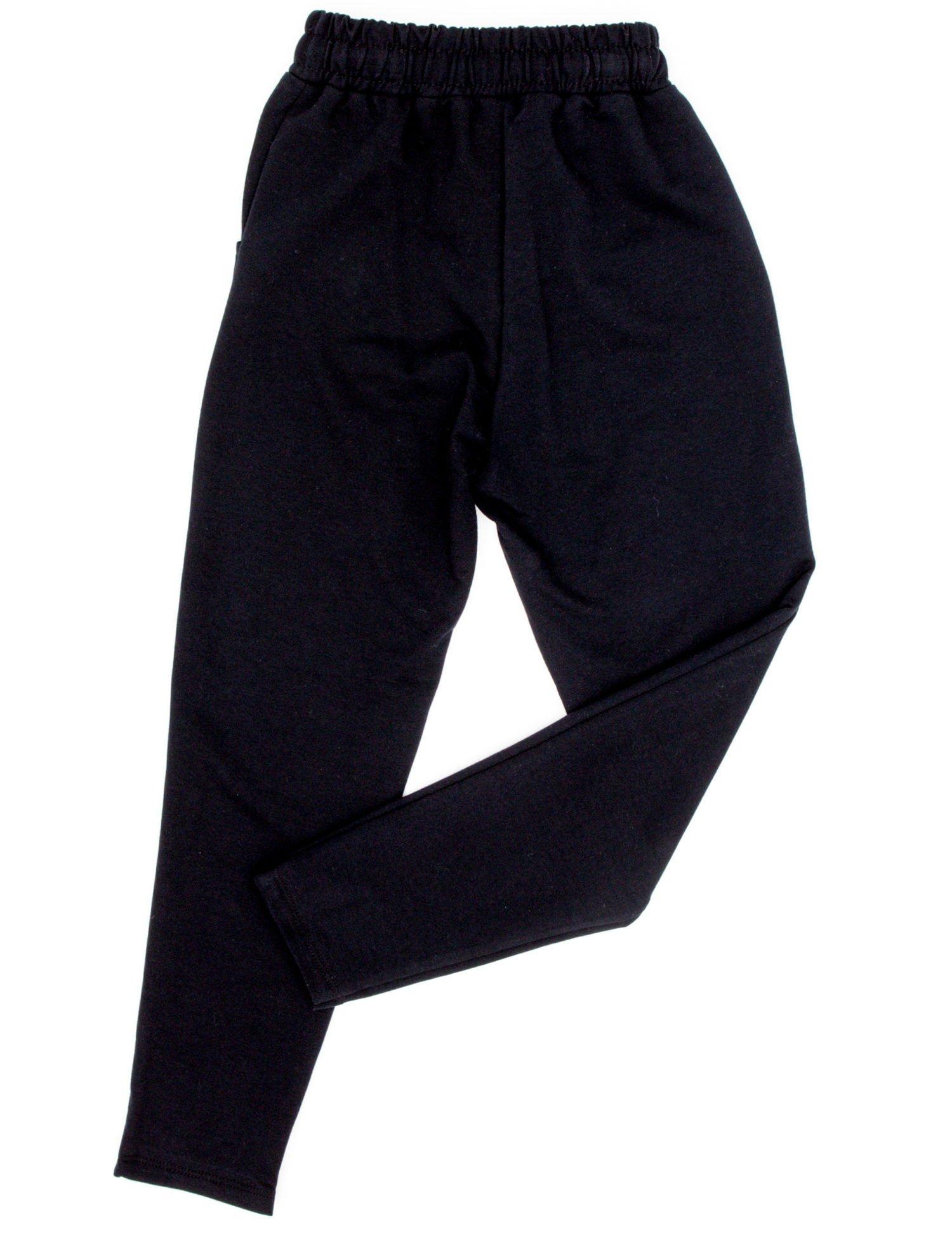 36fa06b1d Granatowe spodnie dresowe dla dziewczynki - Dziecko Dziewczynka ...