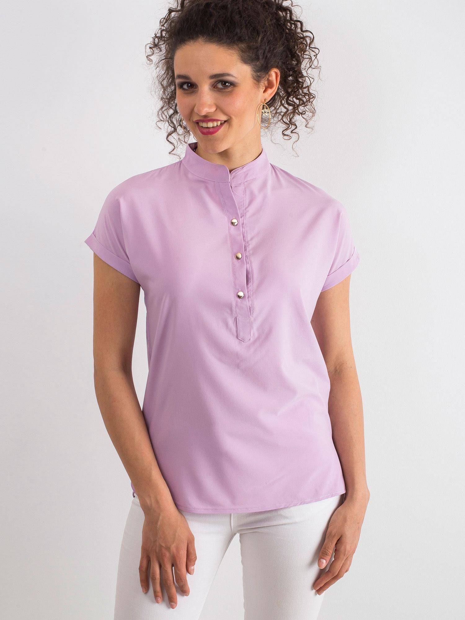 b41599f873 Jasnofioletowa bluzka Moonlight - Bluzka na co dzień - sklep eButik.pl