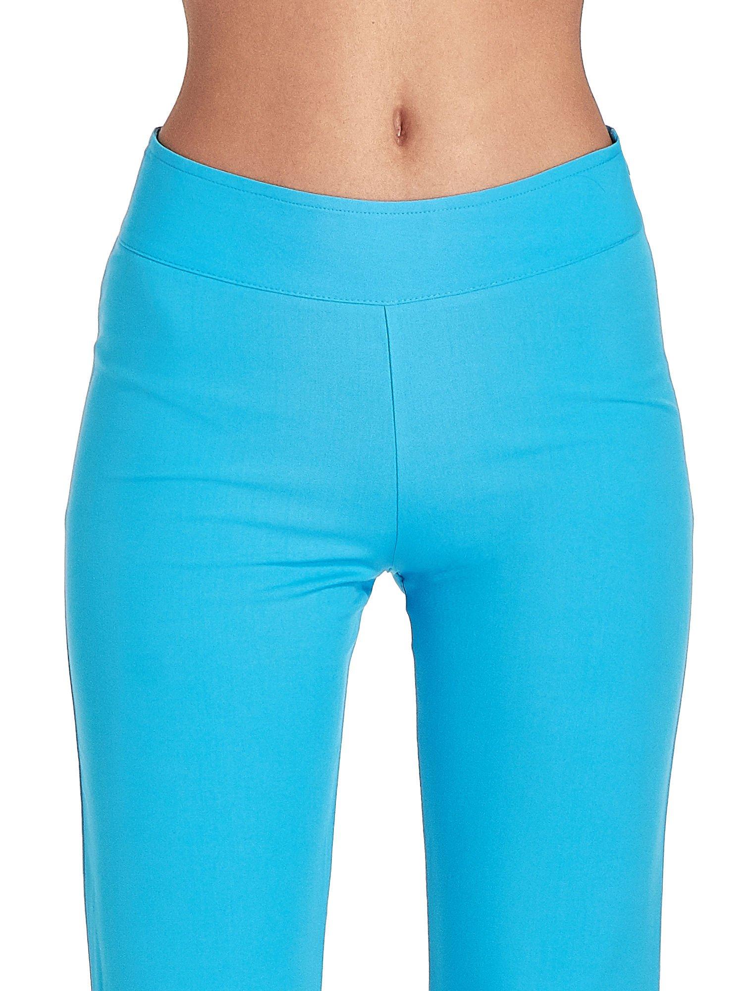 Jasnoniebieskie spodnie typu dzwony                                  zdj.                                  5
