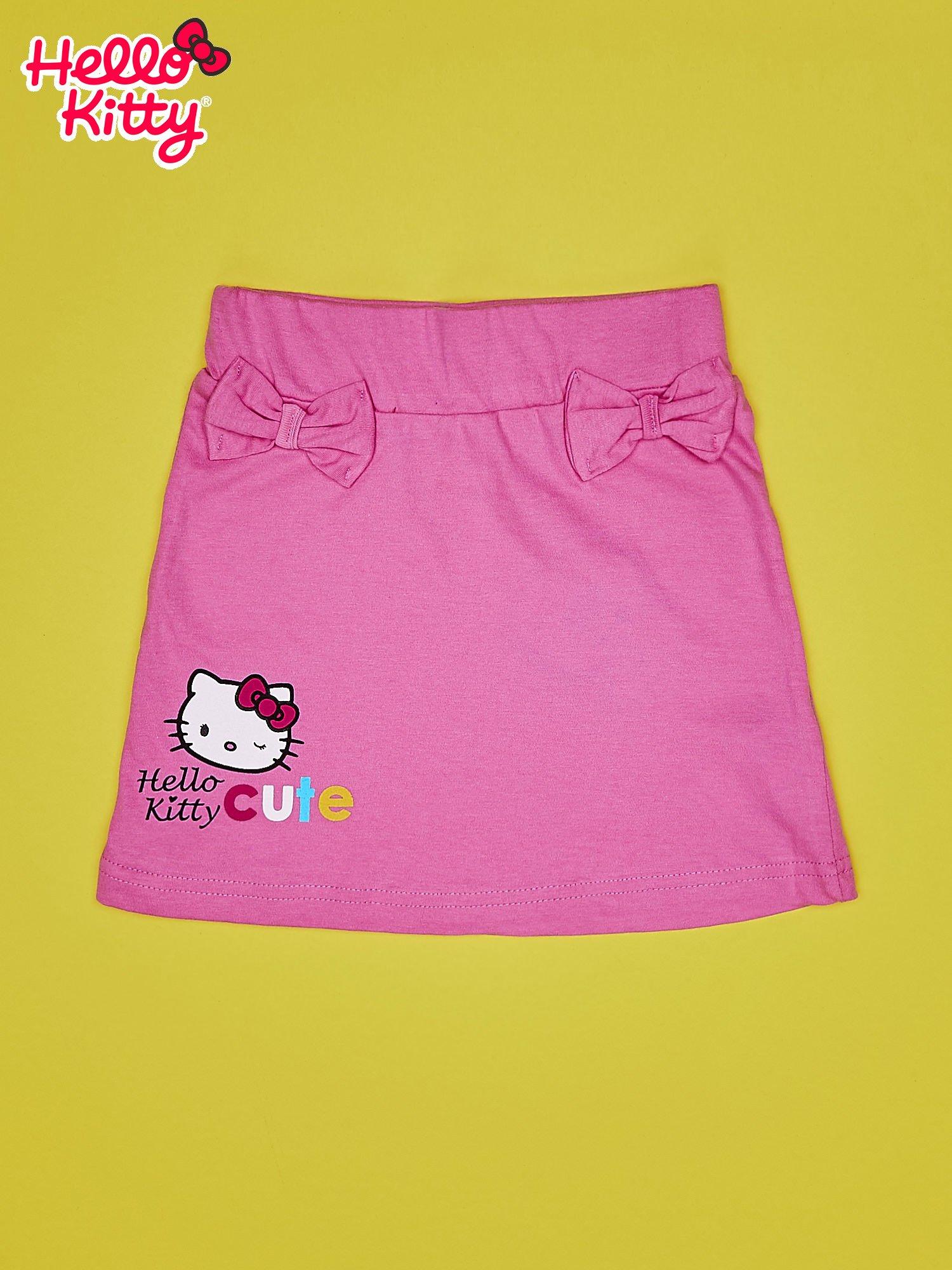 Jasnoróżowa spódnica dla dziewczynki HELLO KITTY                                  zdj.                                  1