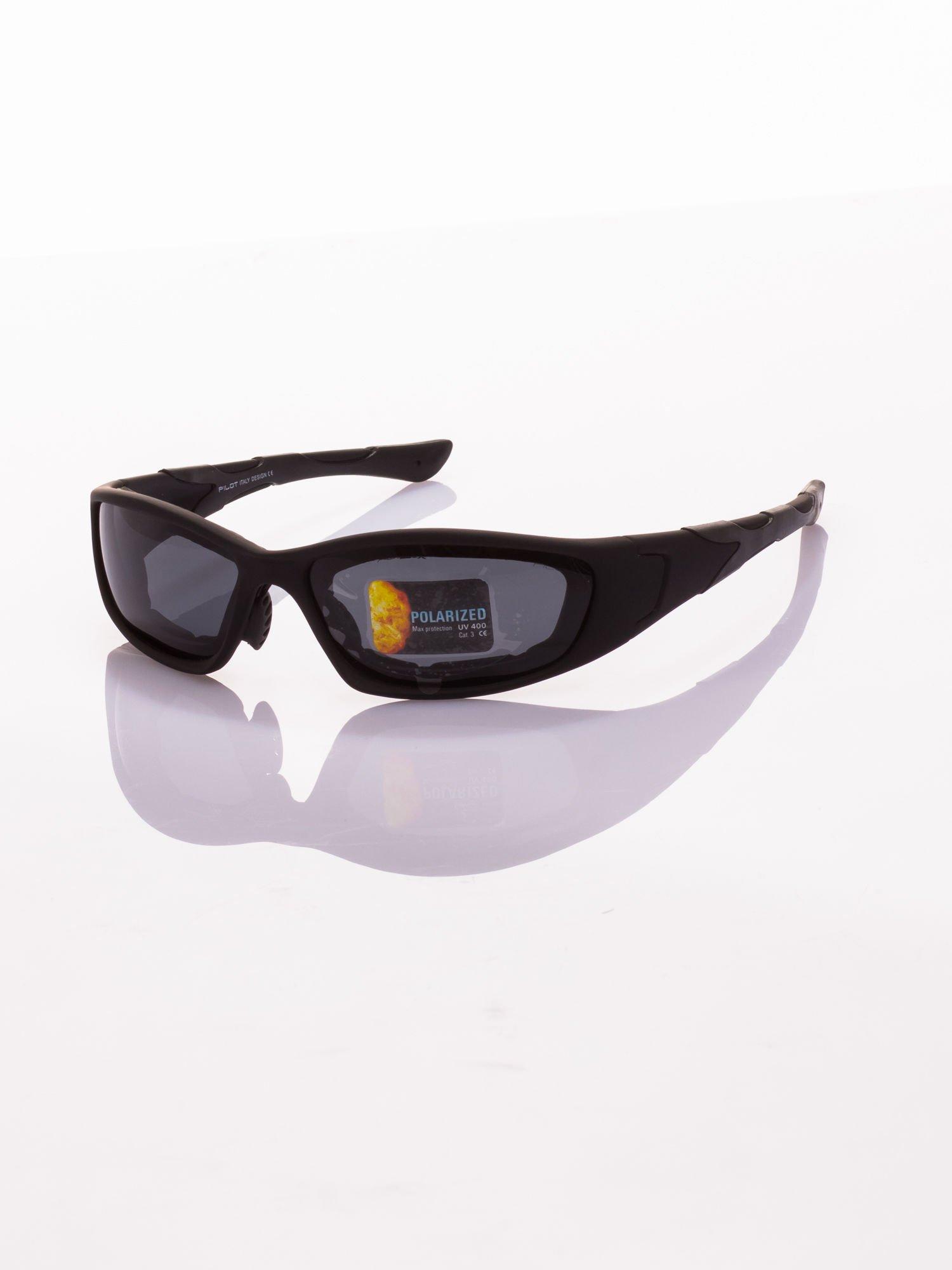 Klasyczne, sportowe okulary przeciwsłoneczne z POLARYZACJĄ                                   zdj.                                  2